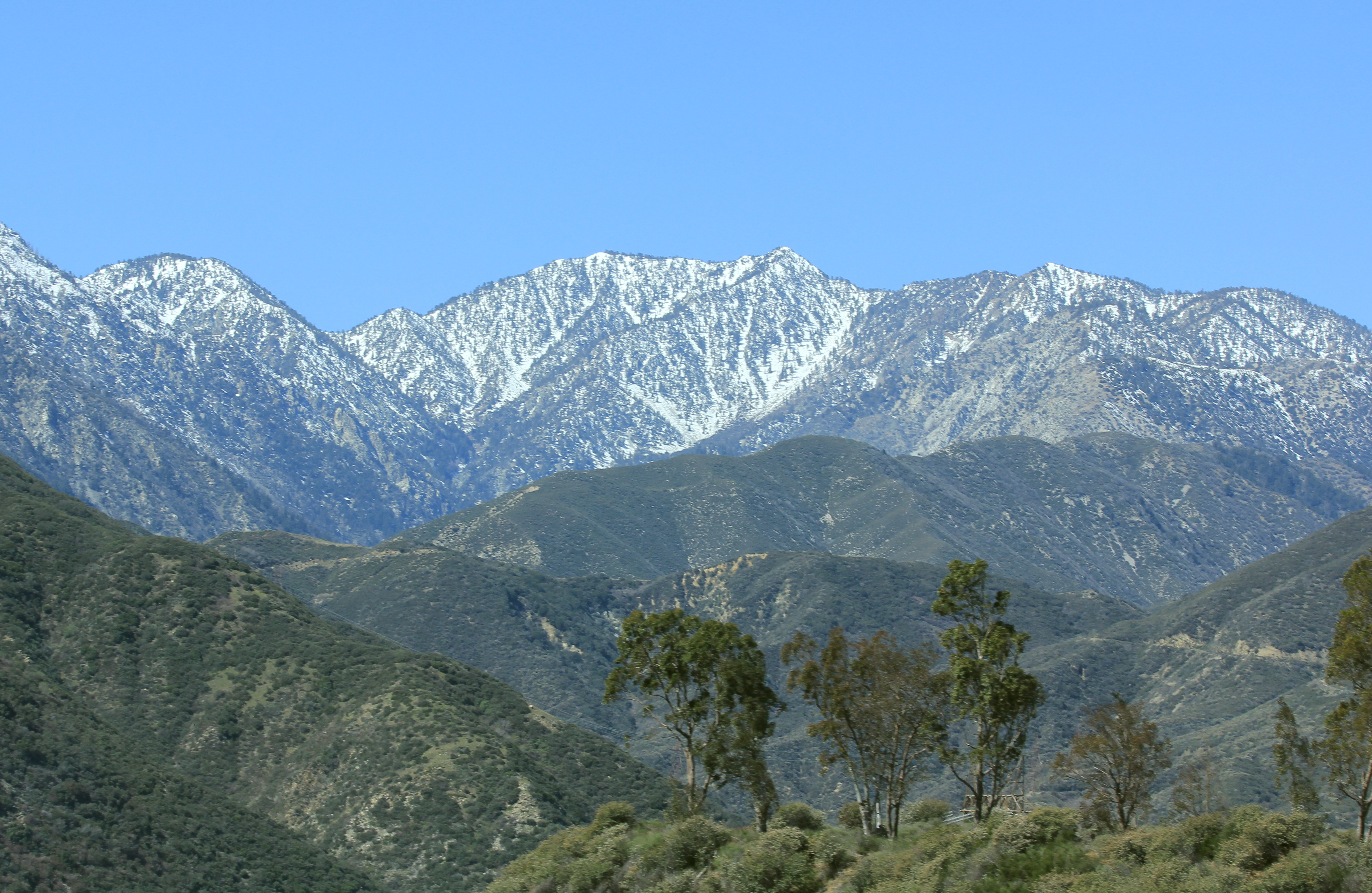 Natural Resources California Mountain Region