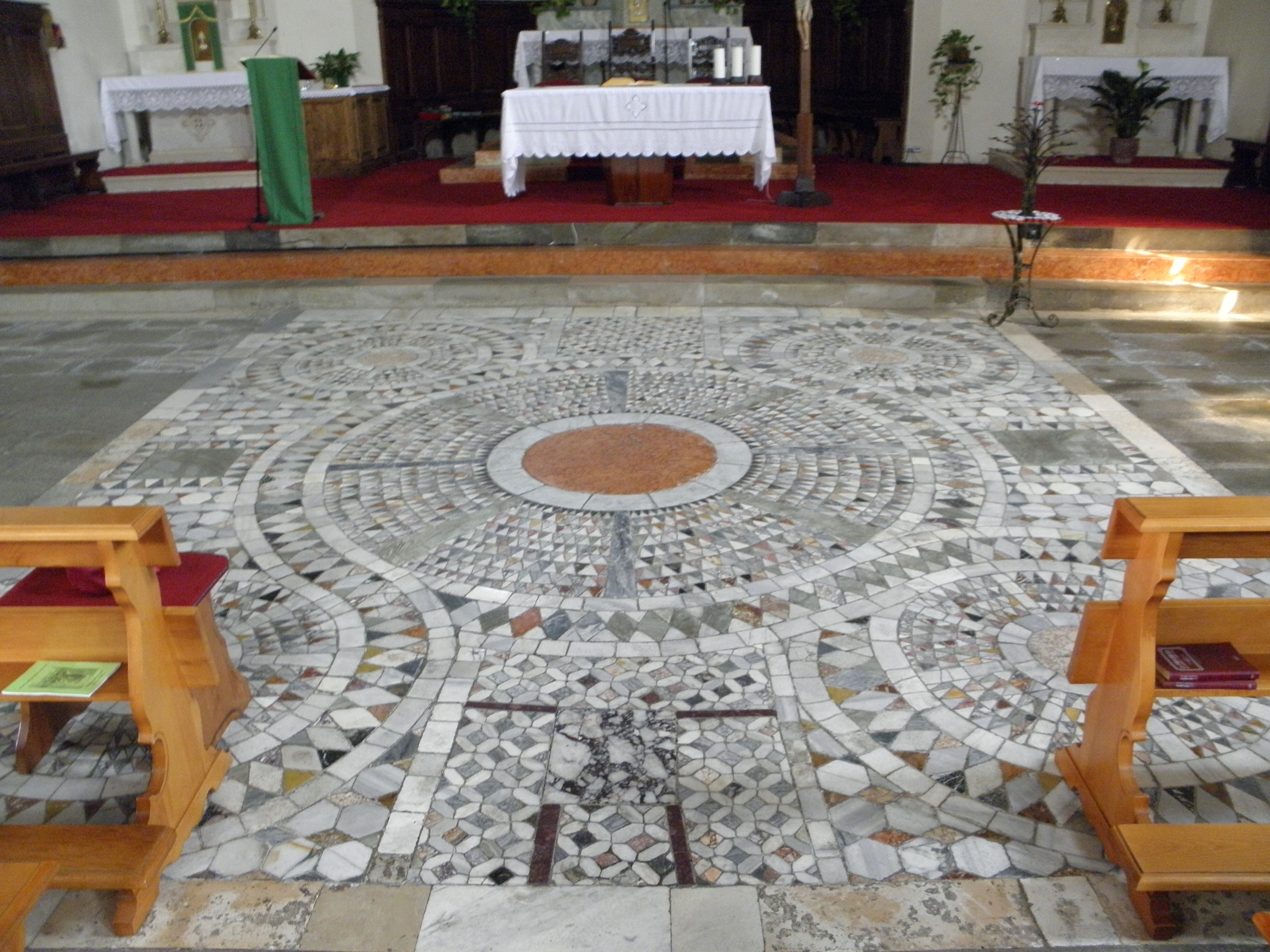 file santo stefano mosaico pavimento carrara santo