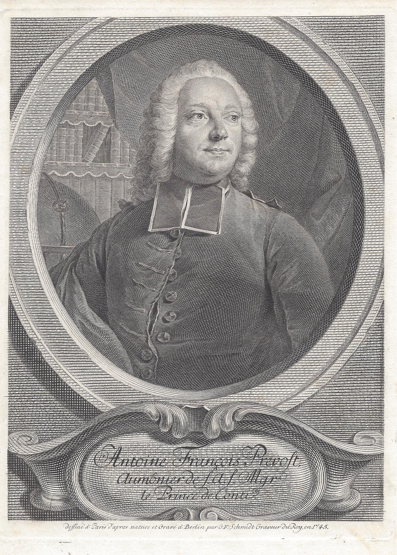 Portrait by [[Georg Friedrich Schmidt]], 1745