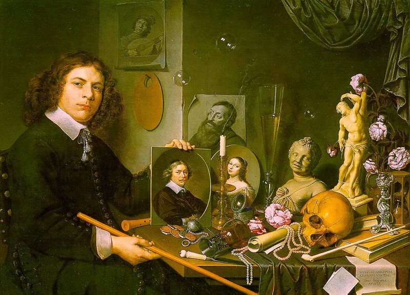 Fichier:Self-Portrait with Vanitas Symbols.jpg