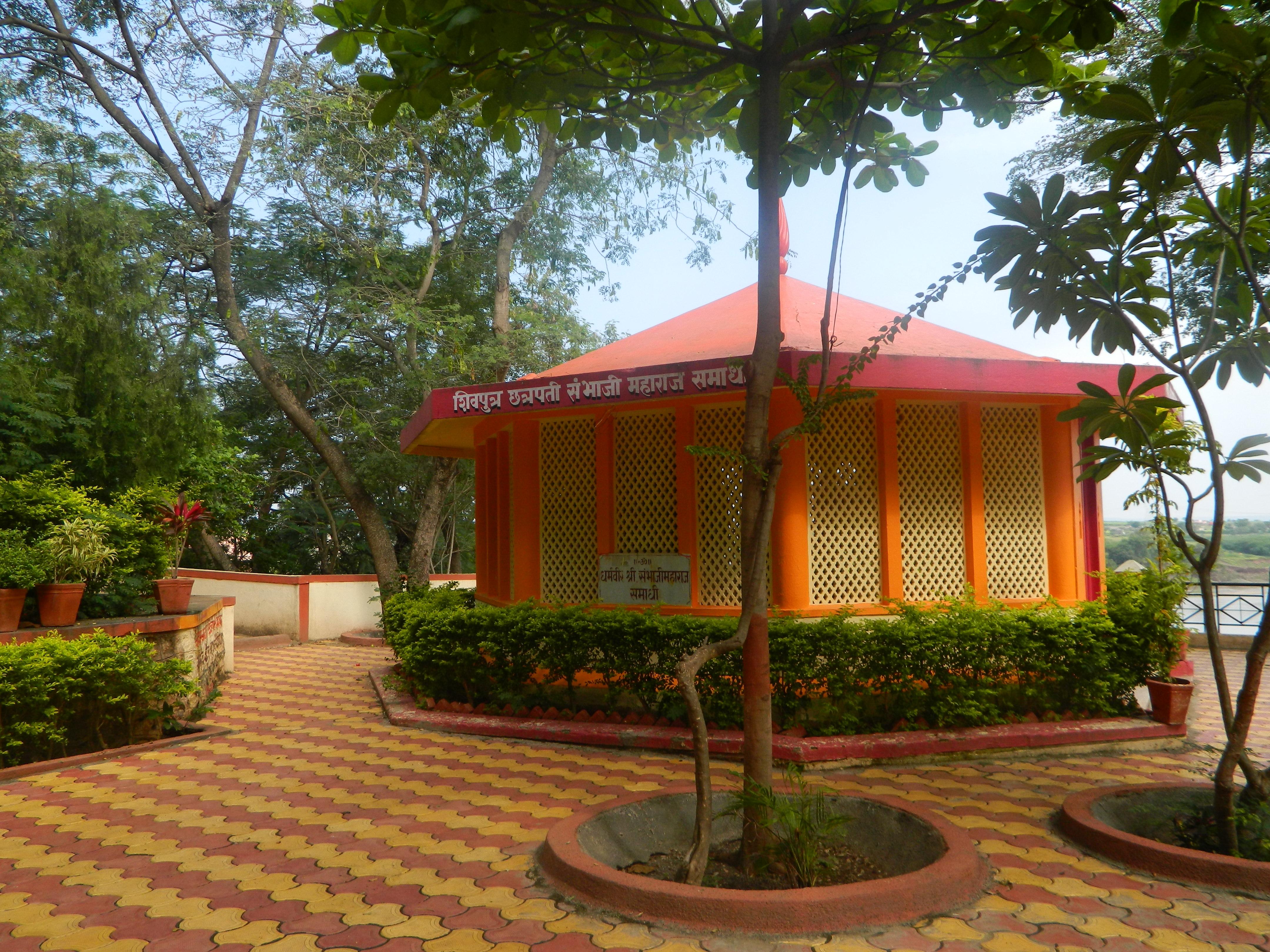 file shivputra chattrapati sambhaji maharaj samadhi jpg