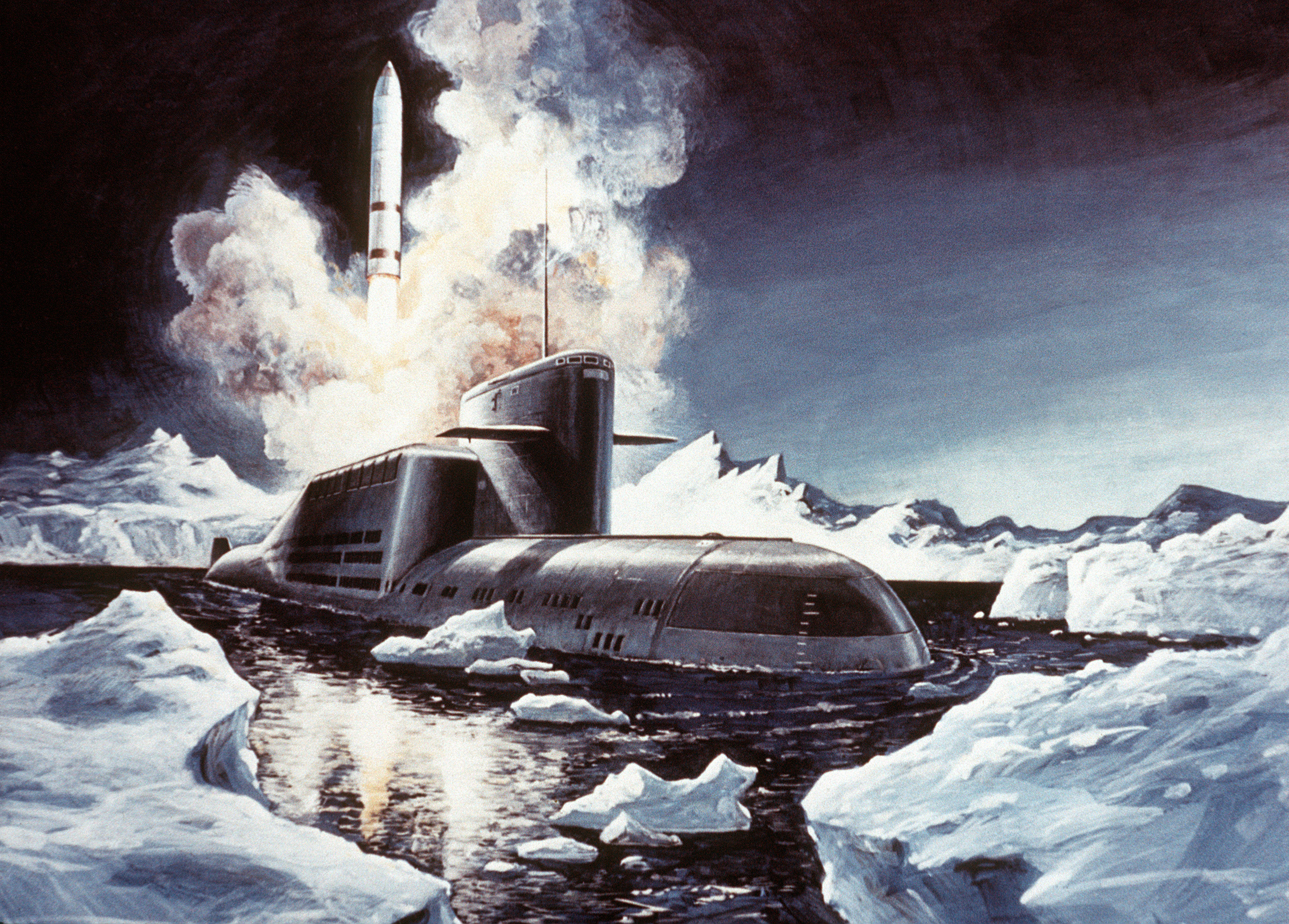 Image result for Delta class submarine SMP