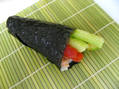 how to make spicy tuna temaki