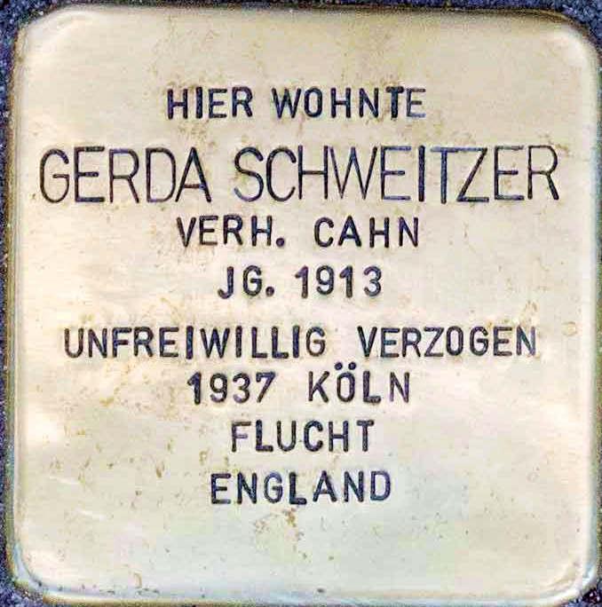 Stolperstein Altenahr Gerda Schweitzer.jpg