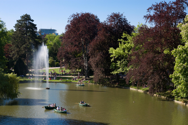 Parc de l Orangerie Wikiwand