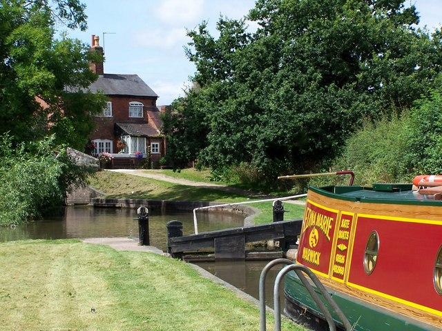 Stratford-on-Avon Canal near Lapworth - geograph.org.uk - 417073