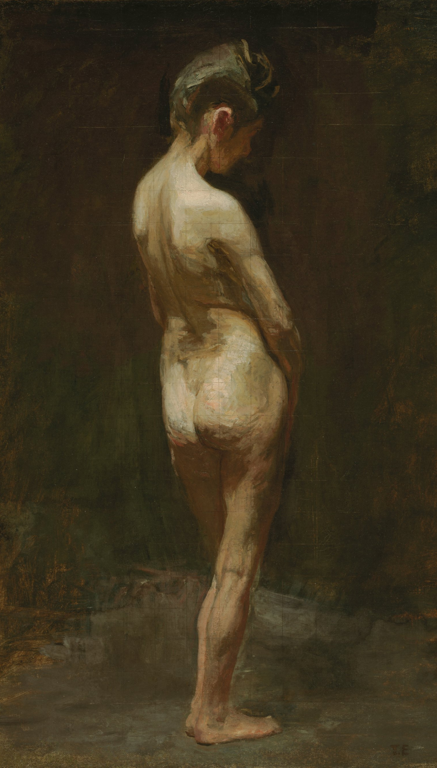 Body female naked study woman