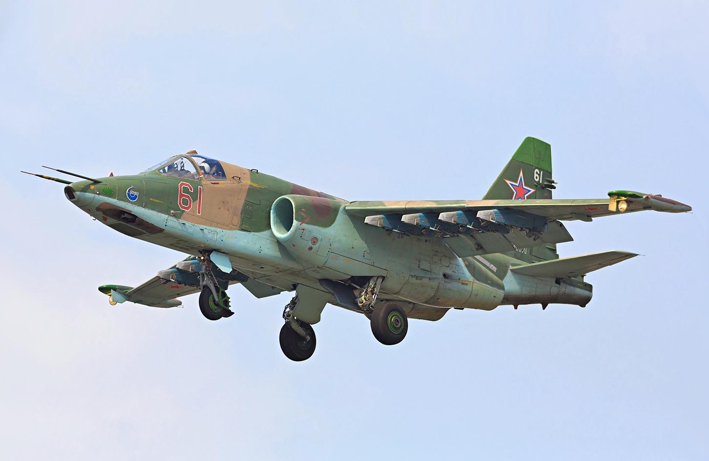 Sukhoi Su-25 - Wikipedia