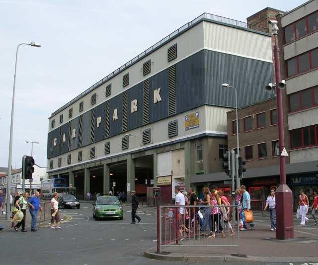Caunce Street Car Park Blackpool