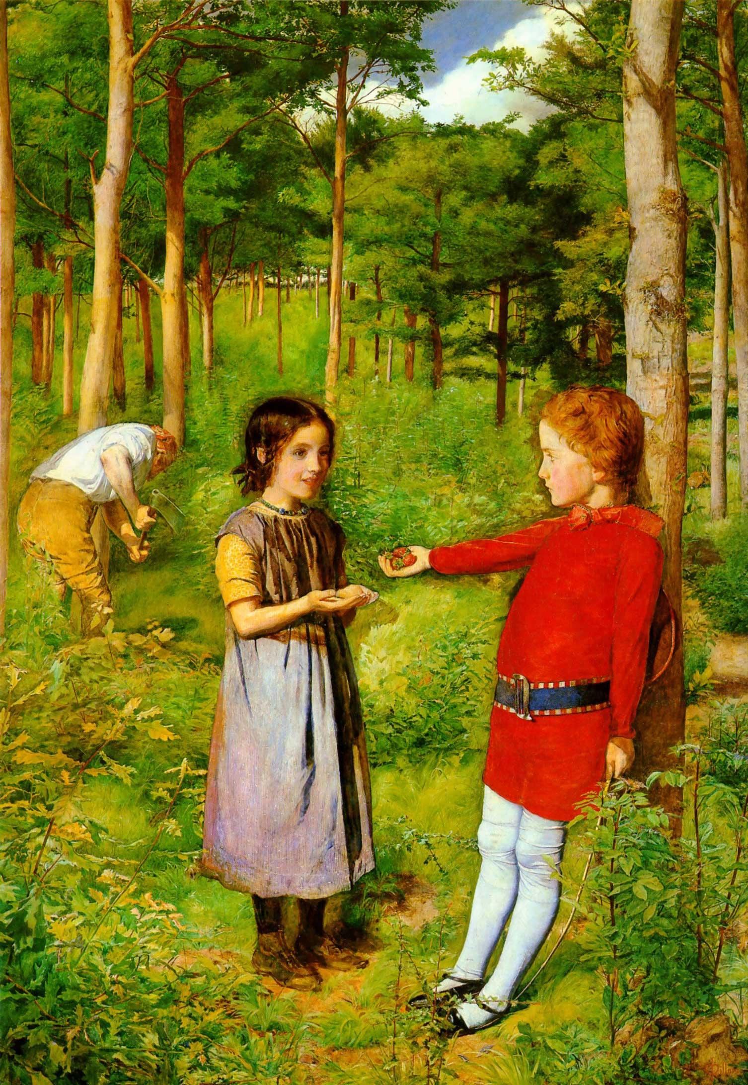 File:The Woodman's Daughter - John Everett Millais.jpg - Wikimedia Commons
