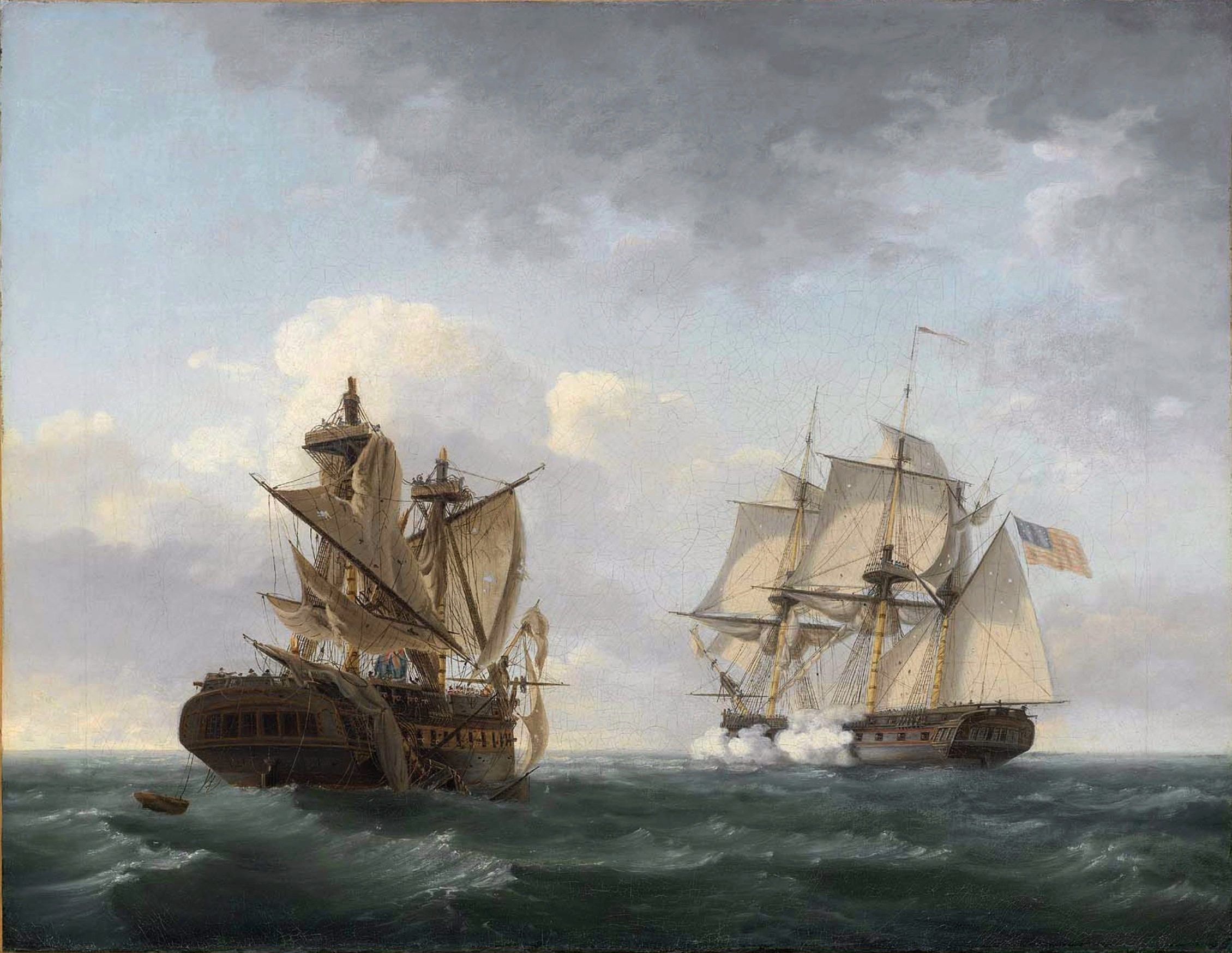 Image result for Thomas Birch USS Macedonian