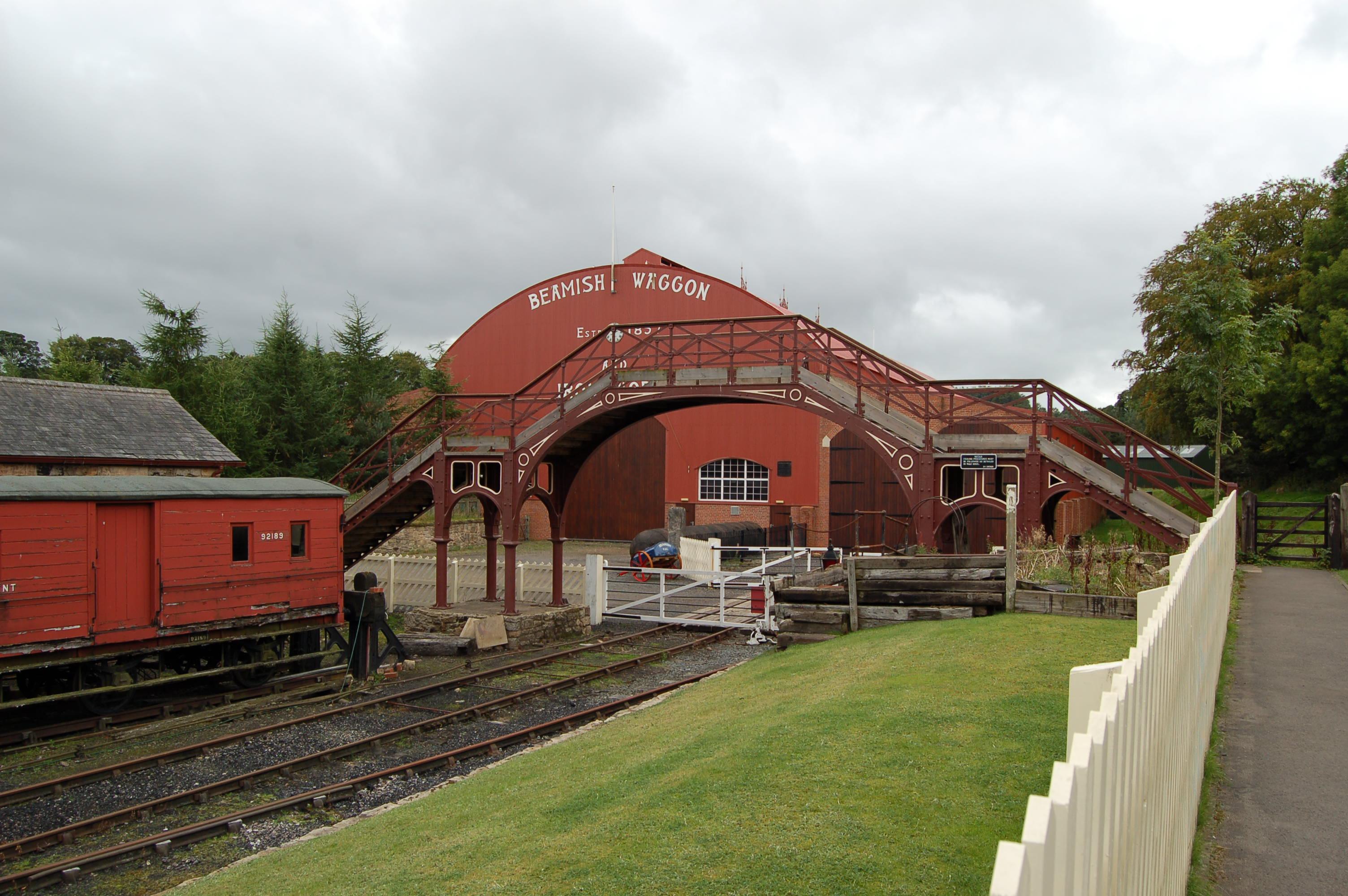 Image: Town railway, Beamish Museum, 11 September 2011 (9)