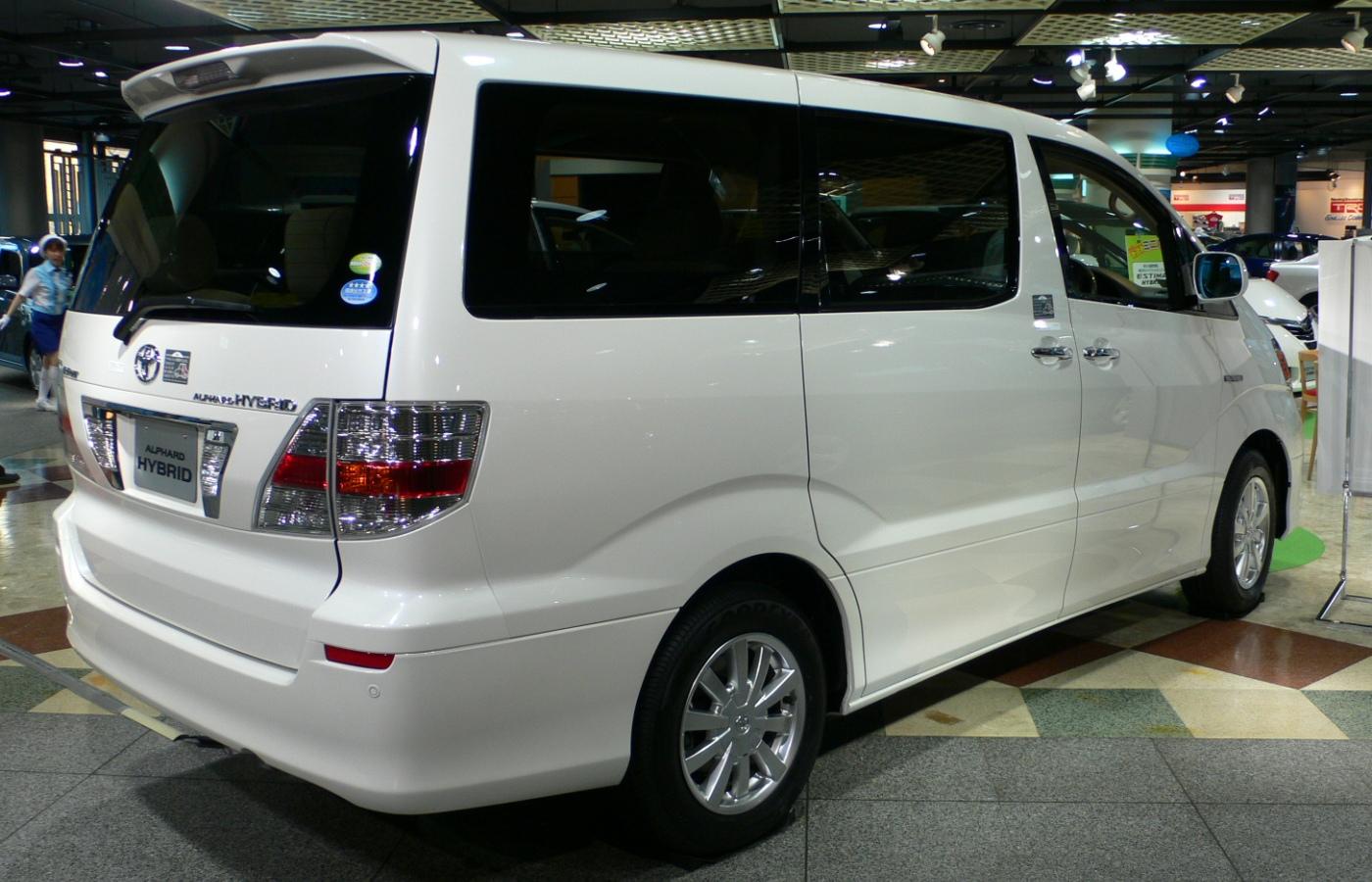 Toyota Alphard Hybrid - More information