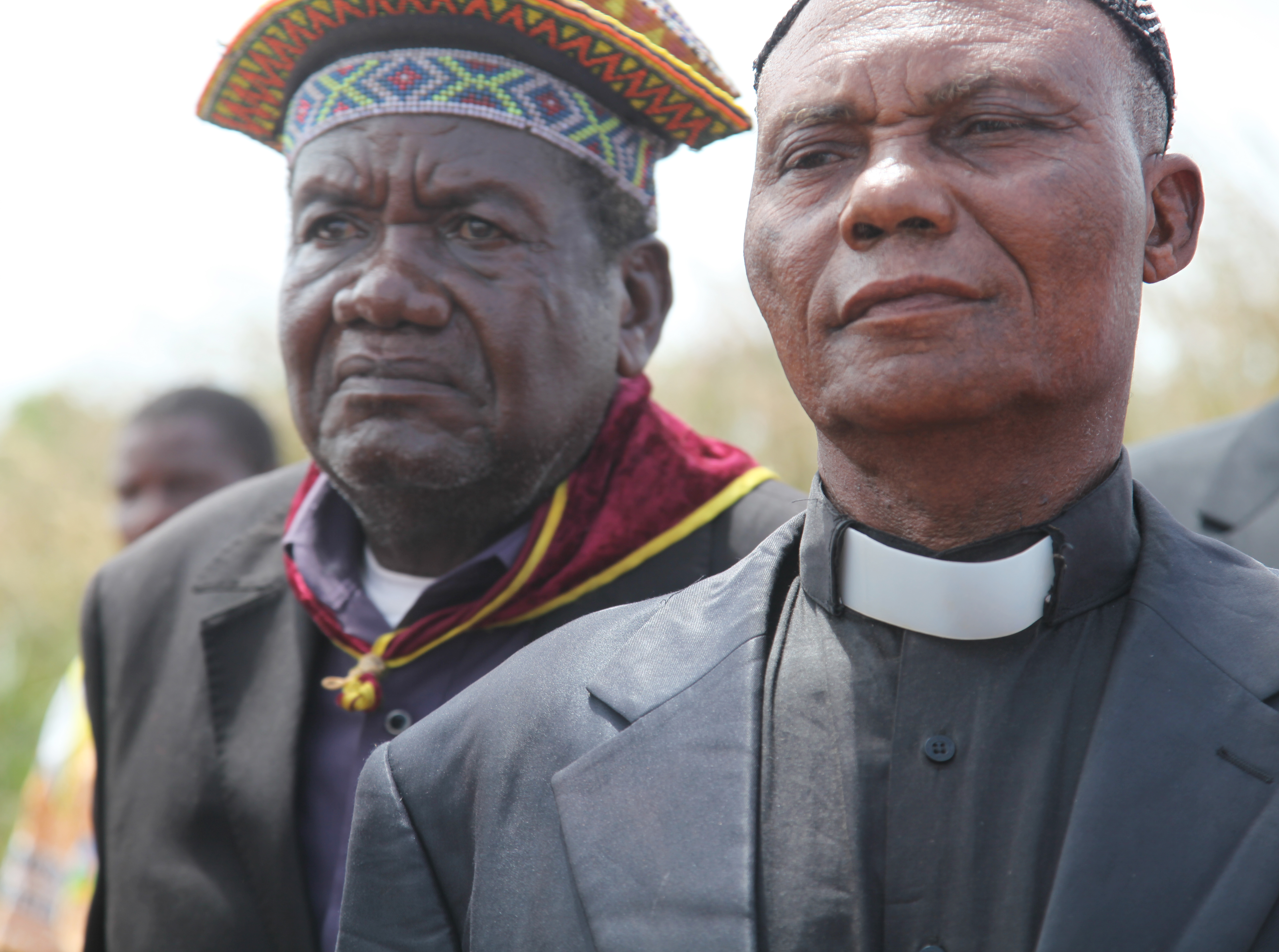 Traditional leader and a priest at Kamako in the Democratic Republic of the Congo.jpg