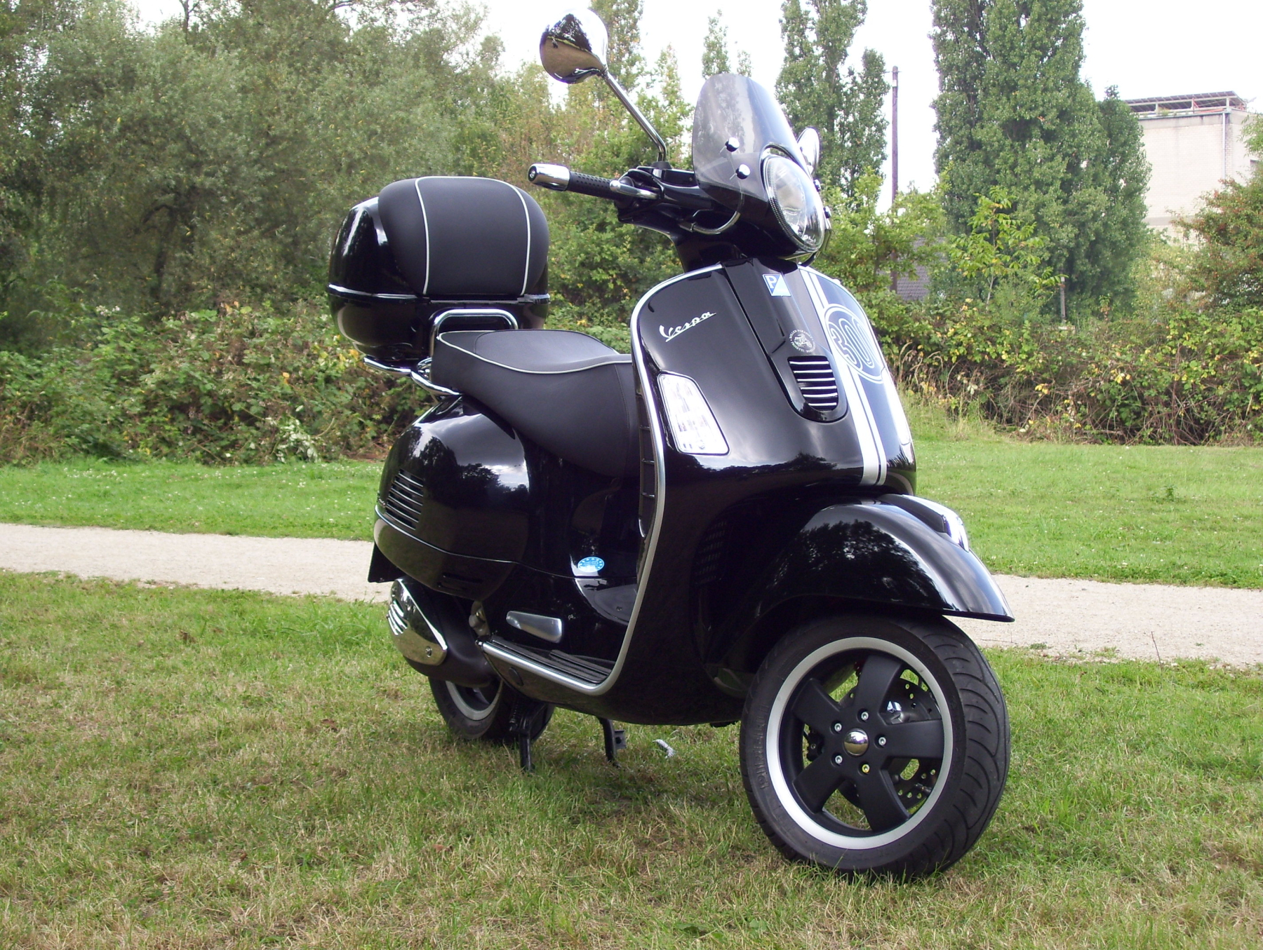 top case scooter 125