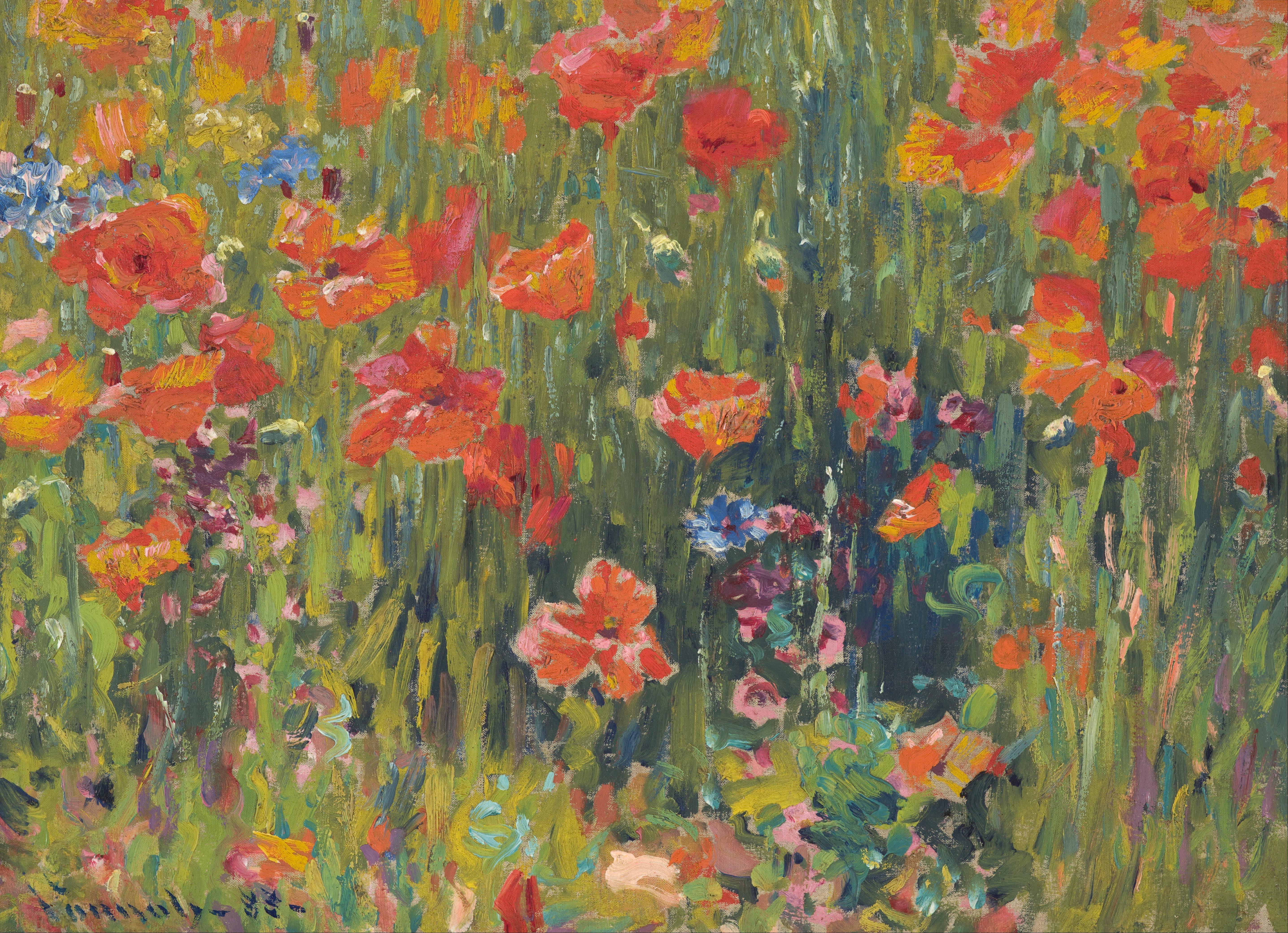 File vonnoh robert william poppies google art project for Imagenes de cuadros abstractos famosos