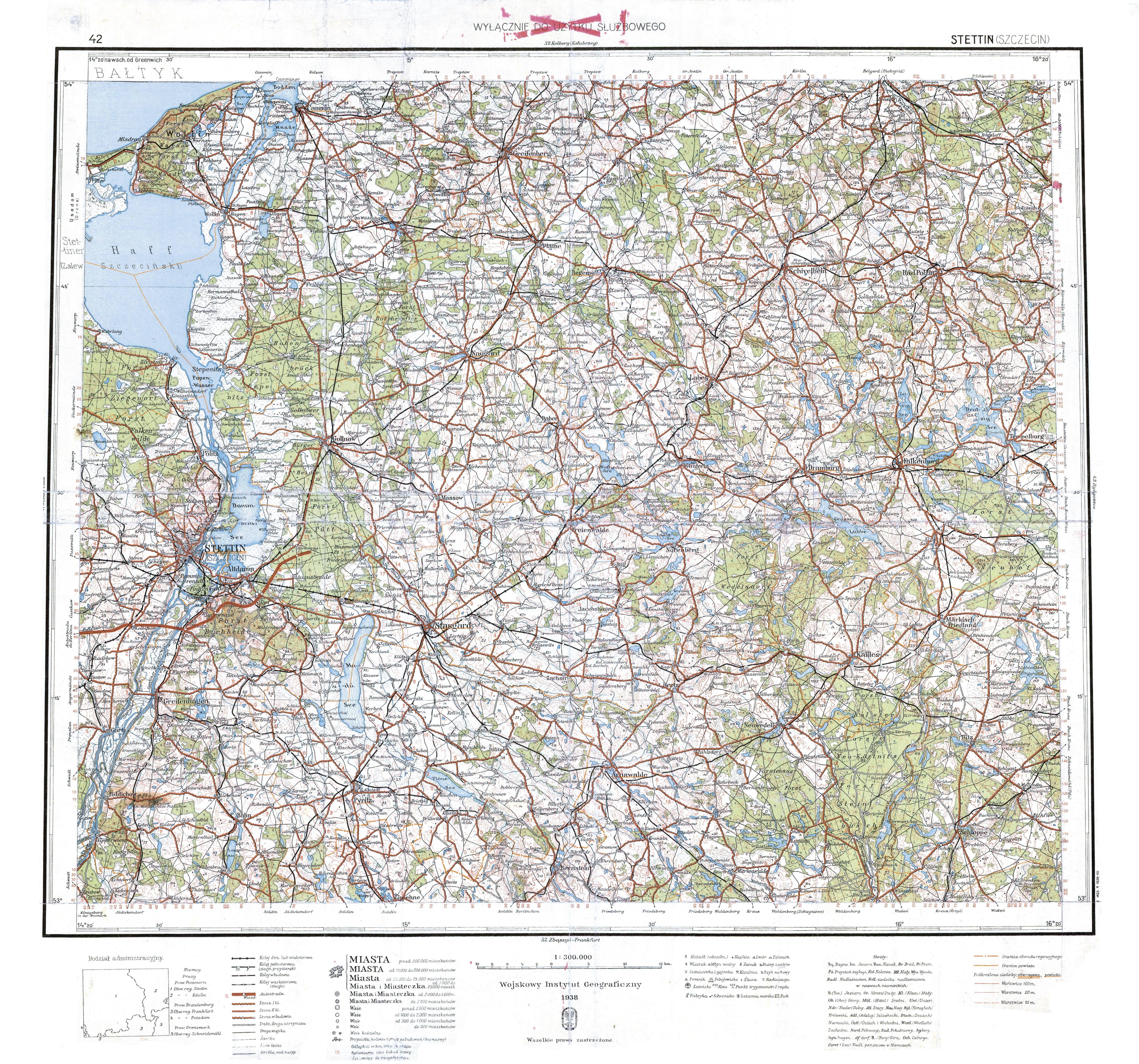 File Wig Mapa Operacyjna Polski 42 Stettin Szczecin