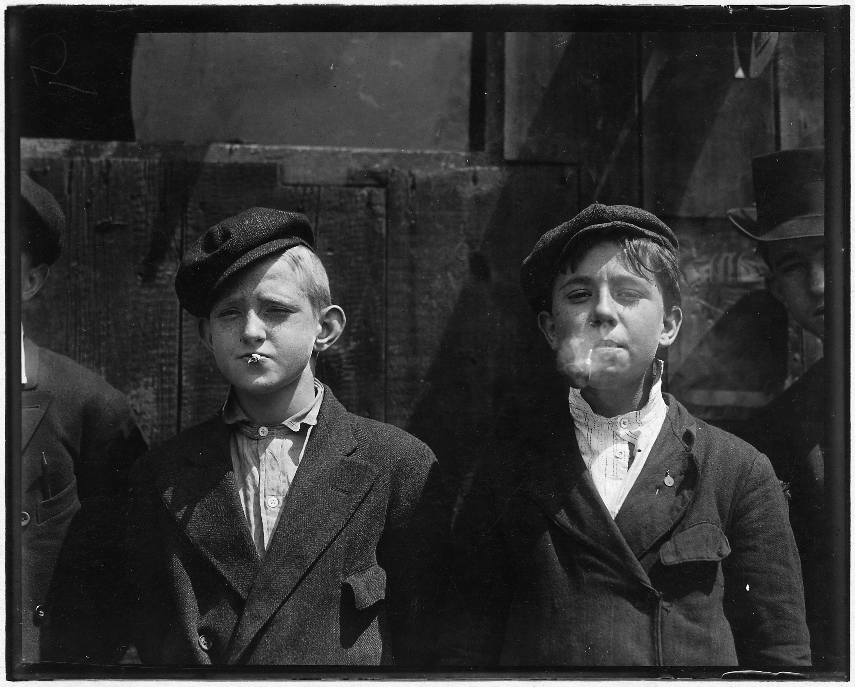 File 11 00 A M Newsies At Skeeter S Branch They Were All