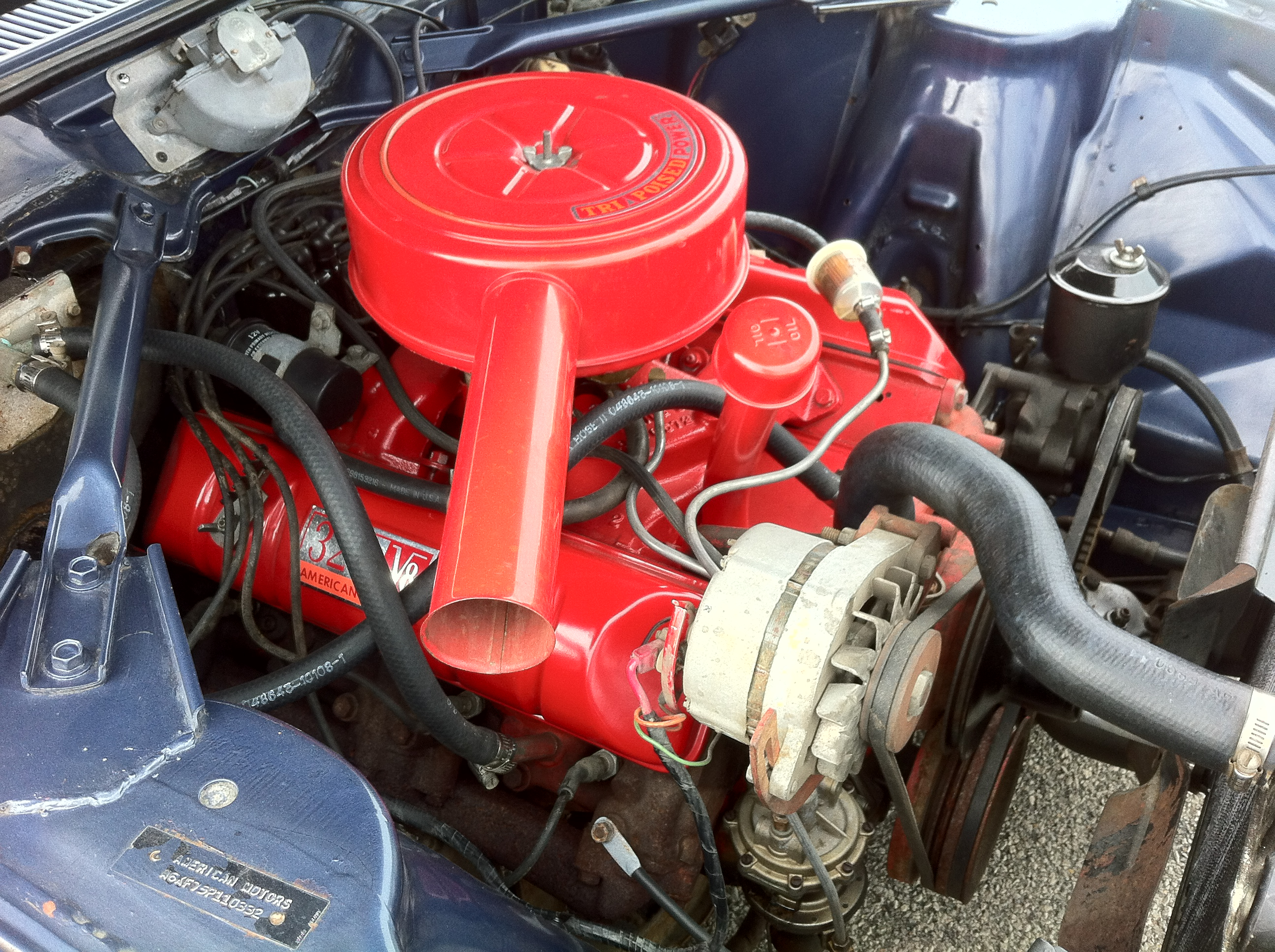 1966_AMC_Ambassador_990_4 sp_convertible_AACA_Iowa_k alternator (automotive) wikipedia