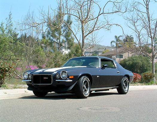 2代目カマロ・z28 前期 1970年 シボレー カマロ(chevrolet Camaro) カッコイイ画像