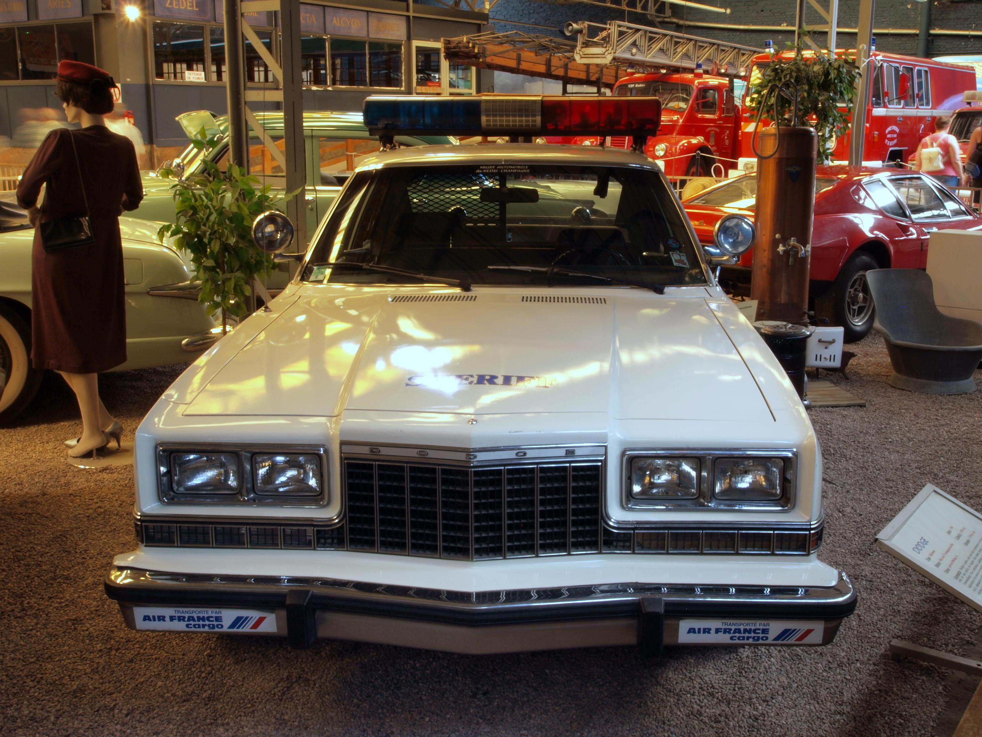 File 1981 Dodge Diplomat Police Car Sheriff Lafayette