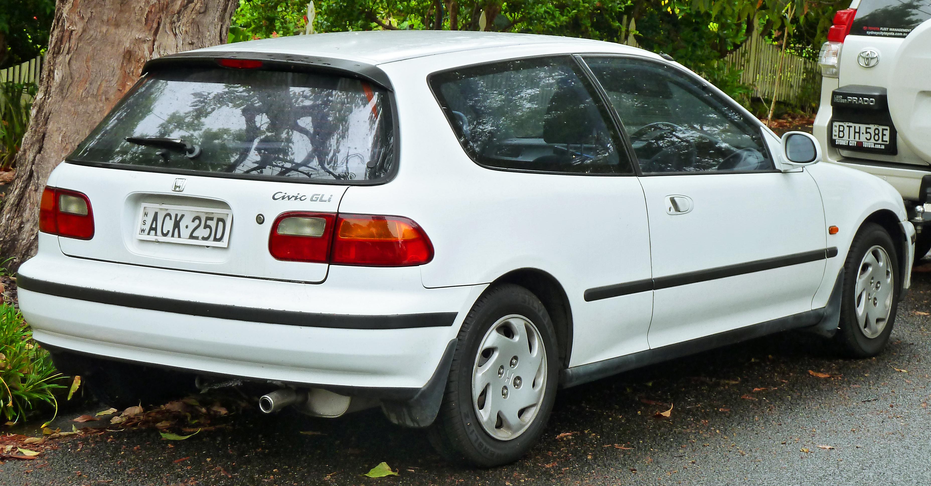 description 1993 1995 honda civic gli 3 door hatchback 2011 11 17 02