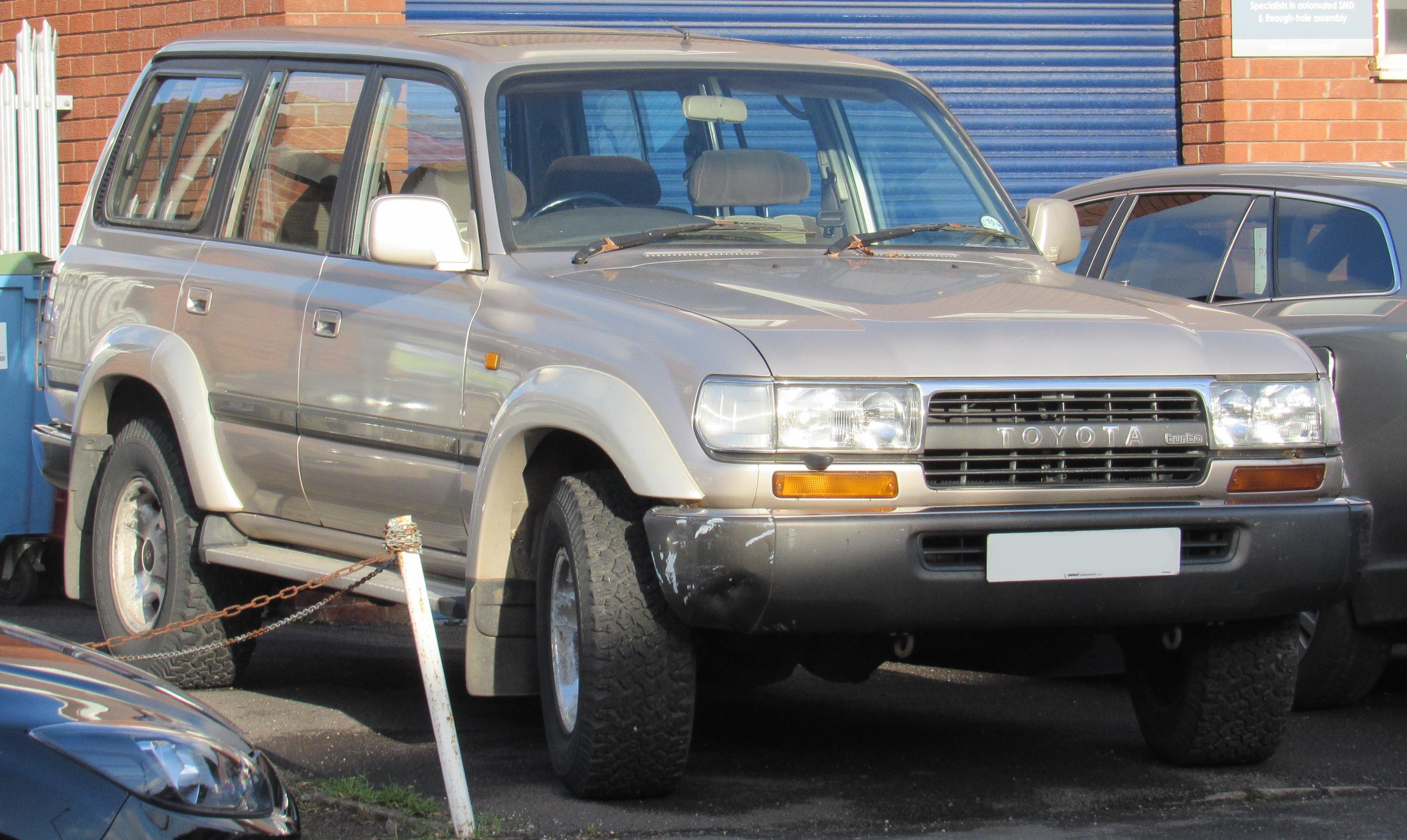 Ficheiro:1993 Toyota Land Cruiser VX 4.2