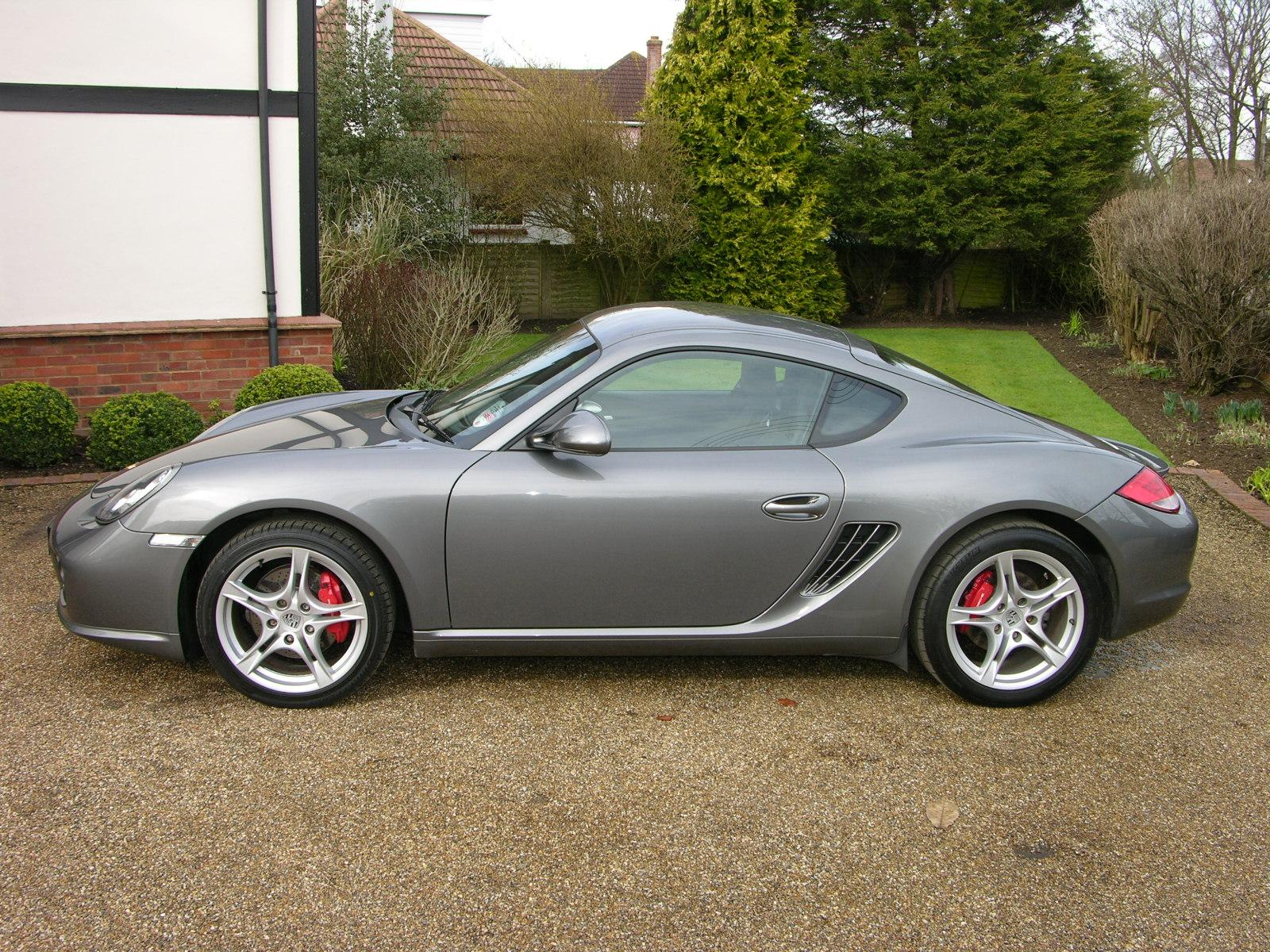 File 2009 Porsche Cayman S Flickr The Car Spy 23 Jpg