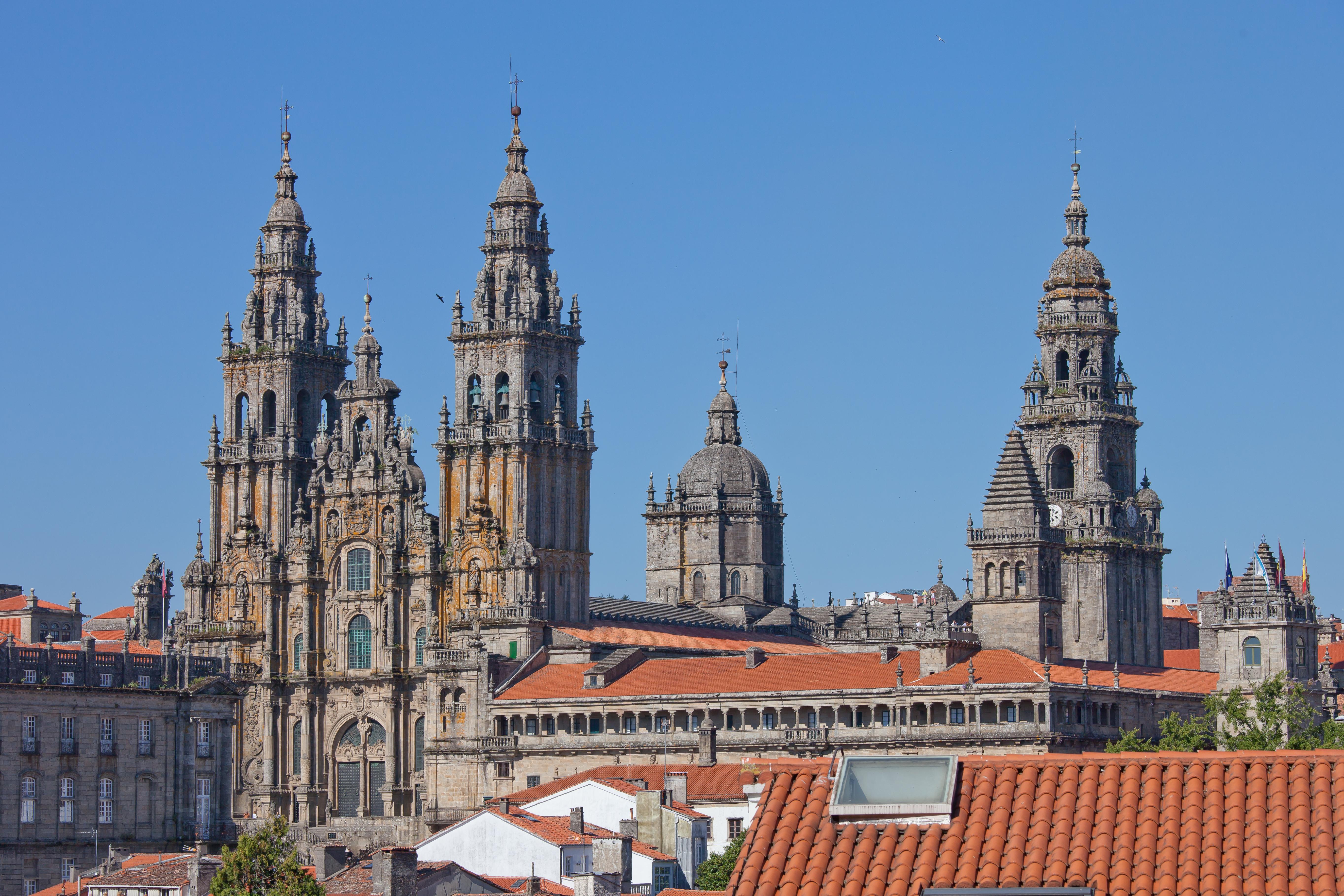 Cathedral of Santiago de Compostela, Santiago ...