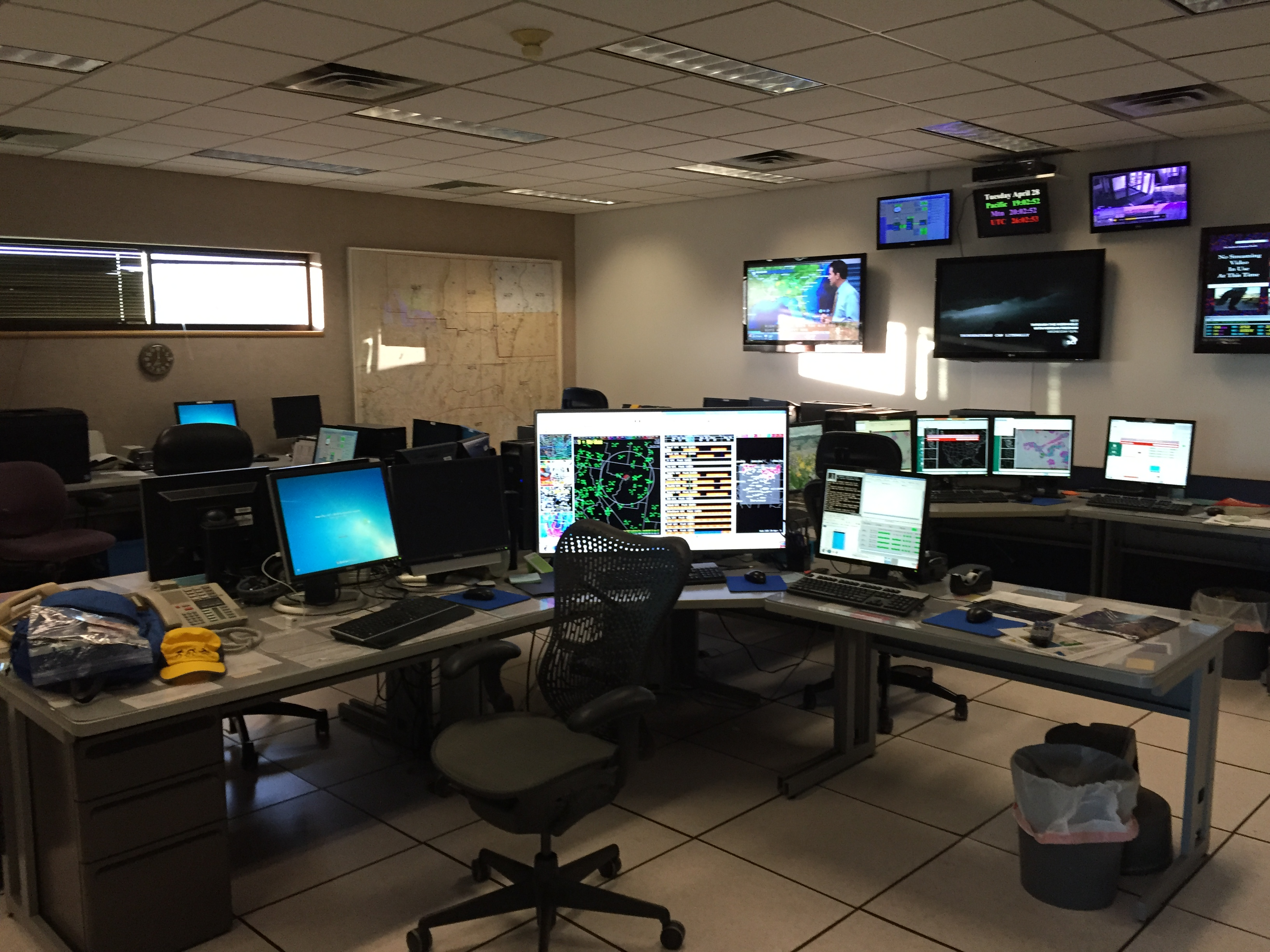 File    The Main Operations Section Of The - Nws us weather map