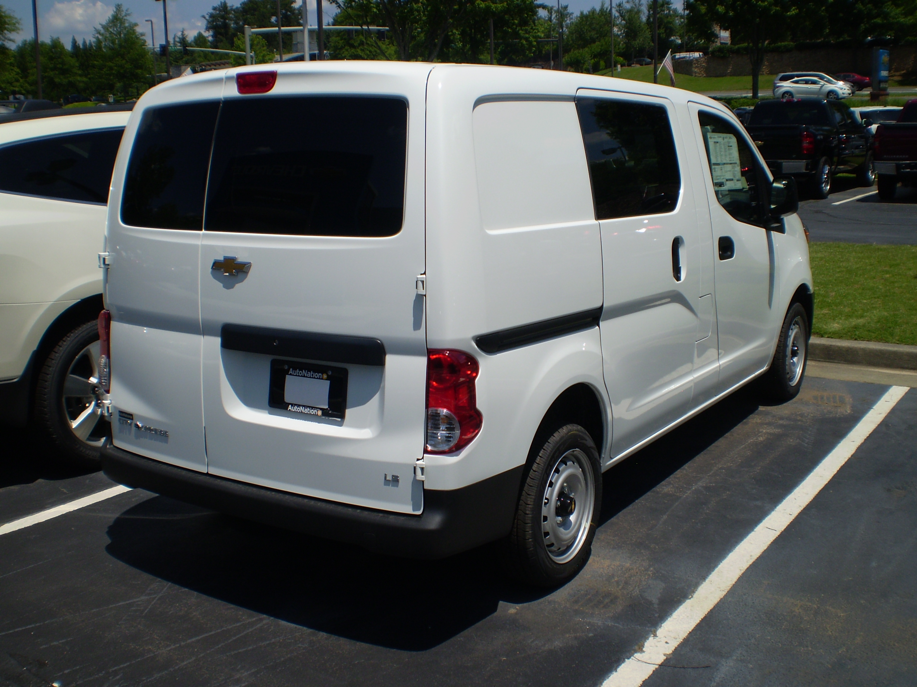 File 2015 Chevrolet City Express Ls Reverse Jpg Wikimedia Commons