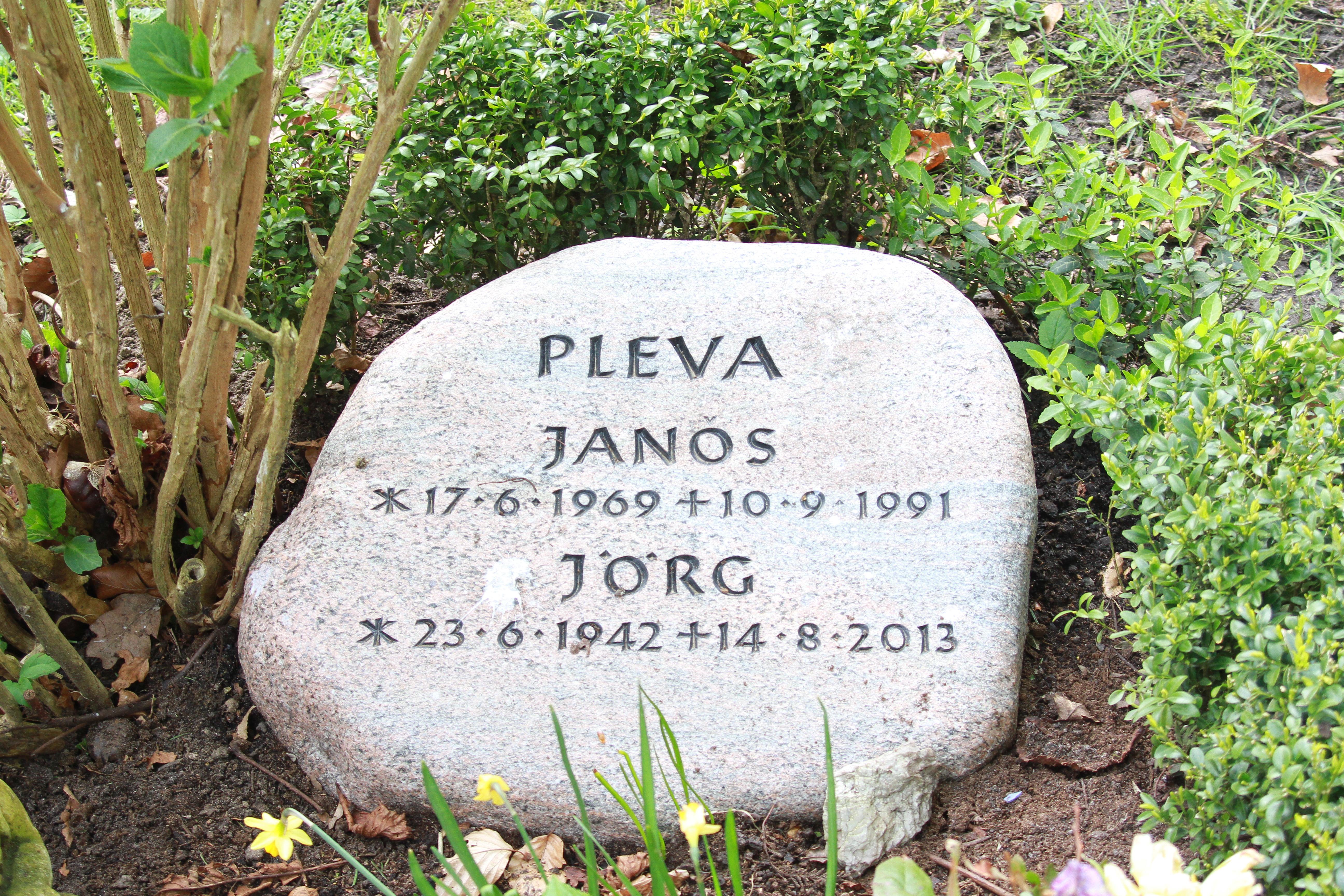 Grab von Jörg Pleva