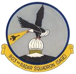 Emblem of the 903d Radar Squadron