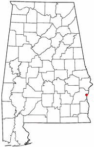 Loko di Eufaula, Alabama
