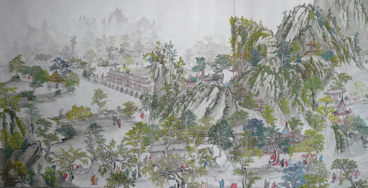 Chinese Painting Water
