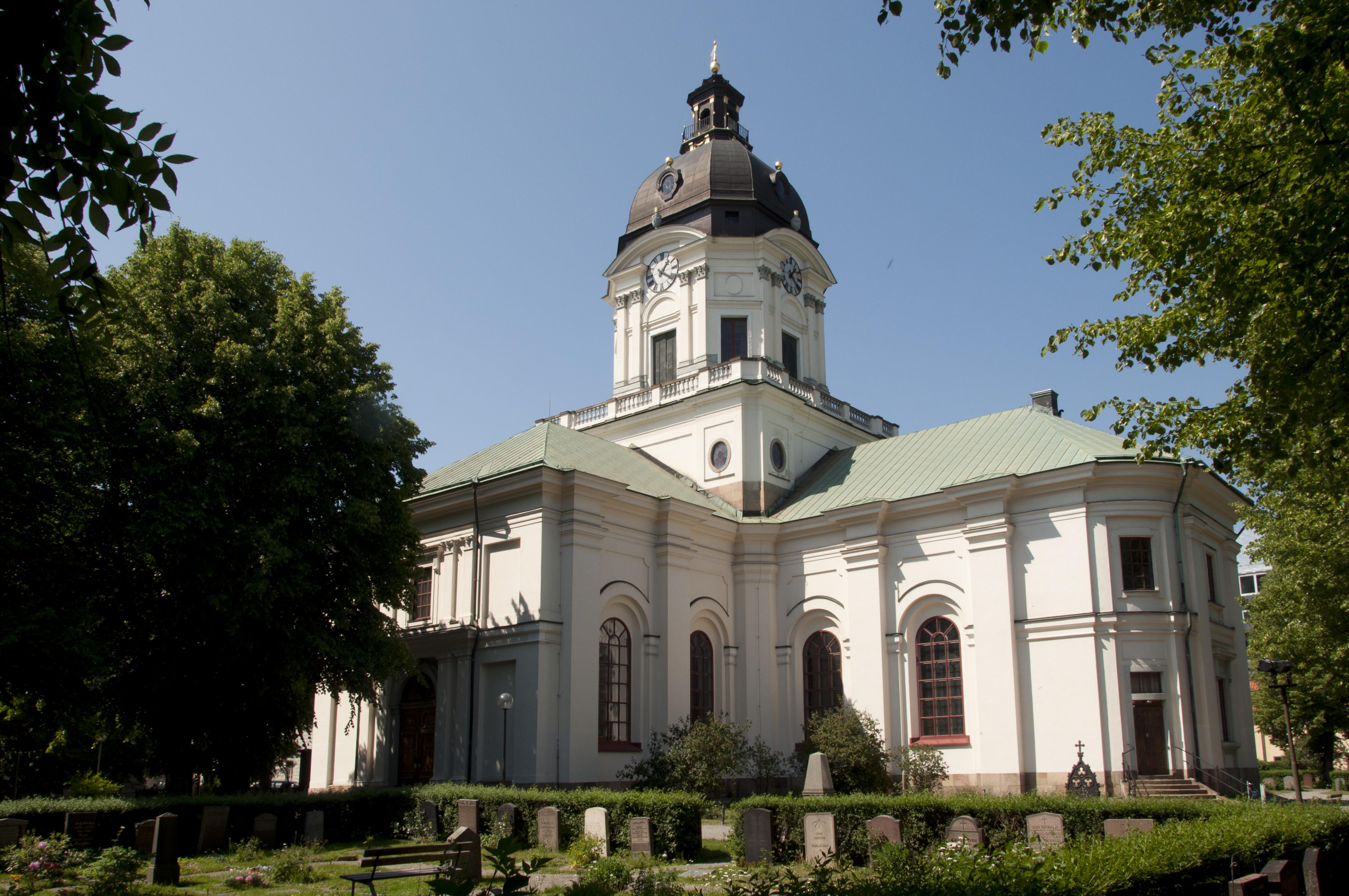 Bild av Adolf Fredriks kyrka