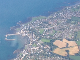 Aerial View of Donaghadee