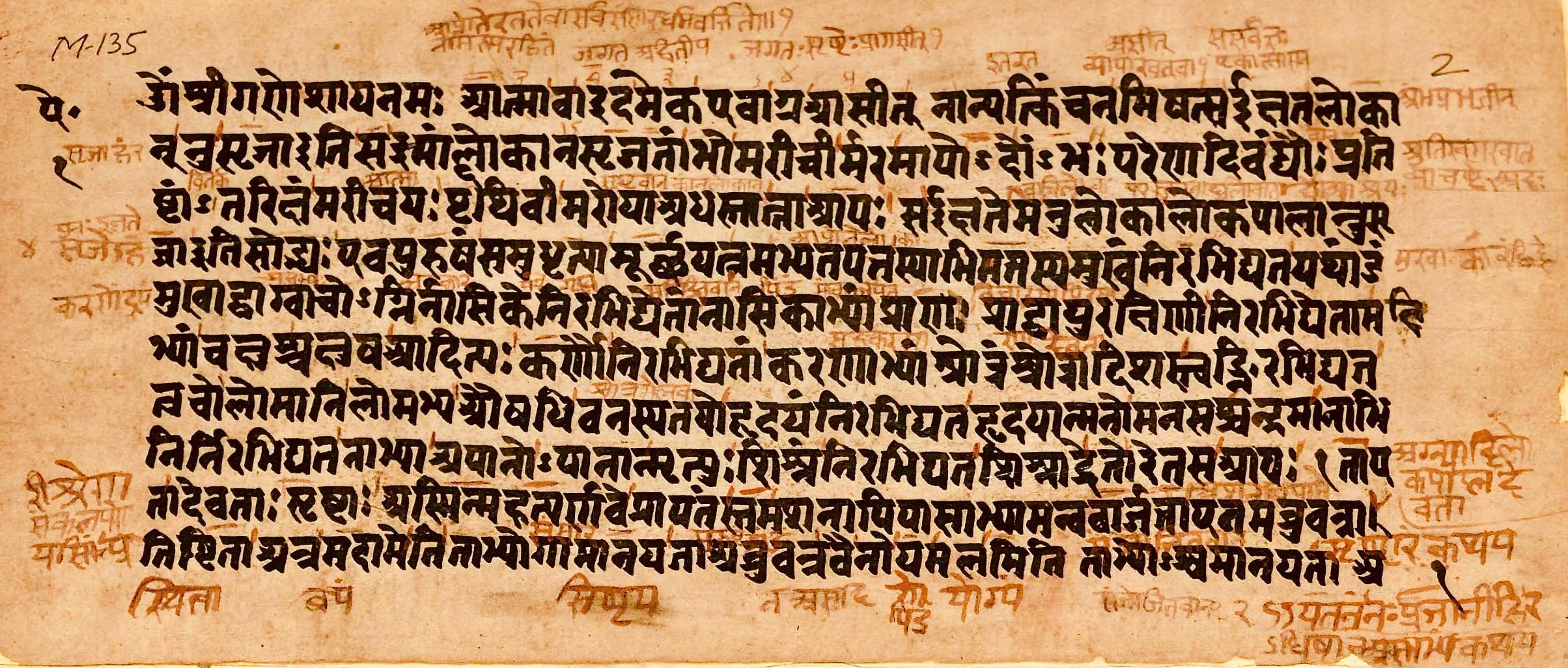 Sanskrit Of The Vedas Vs Modern Sanskrit: File:Aitareya Upanishad, Sanskrit, Rigveda, Devanagari
