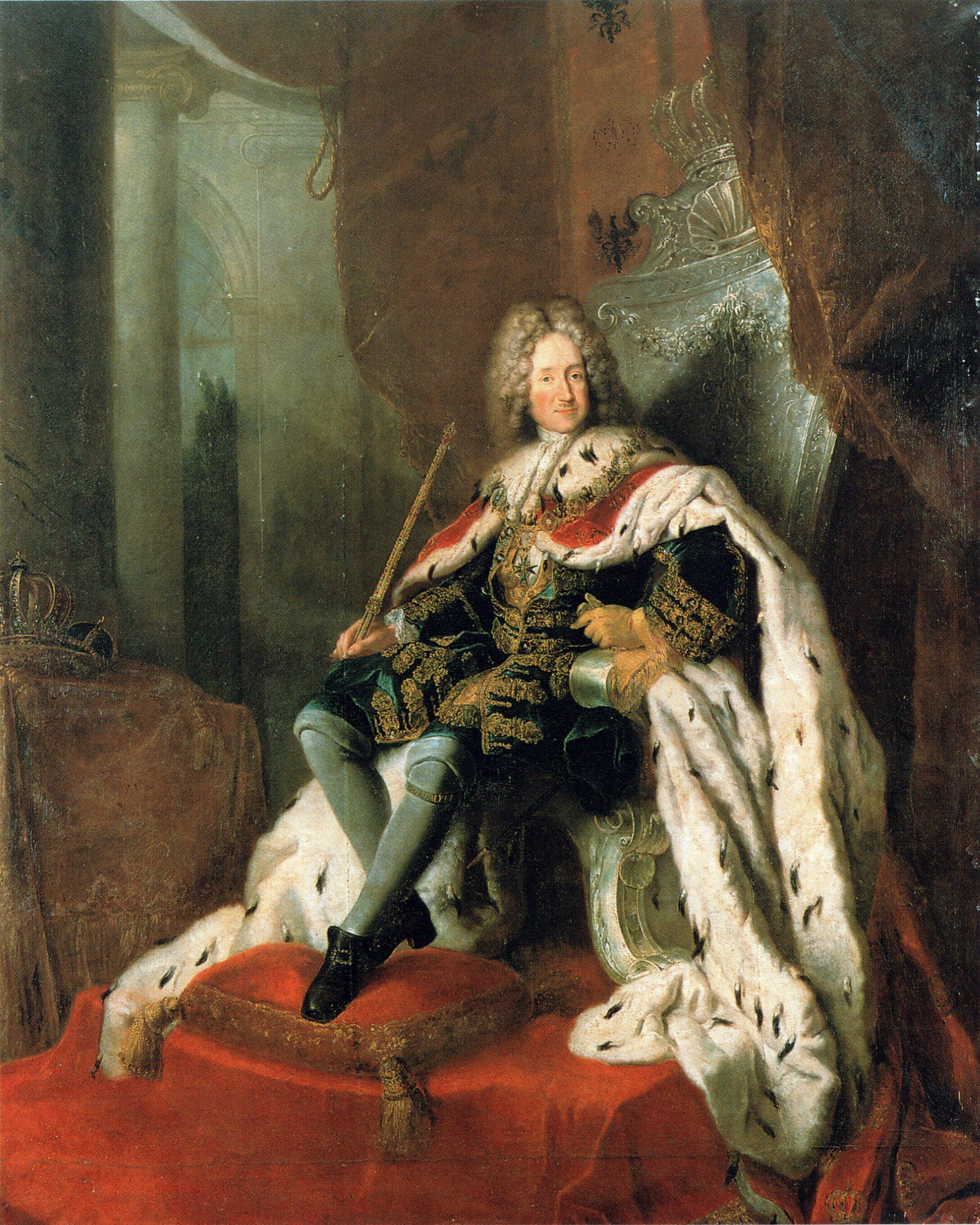 Резултат с изображение за първият пруски крал Фридрих I.
