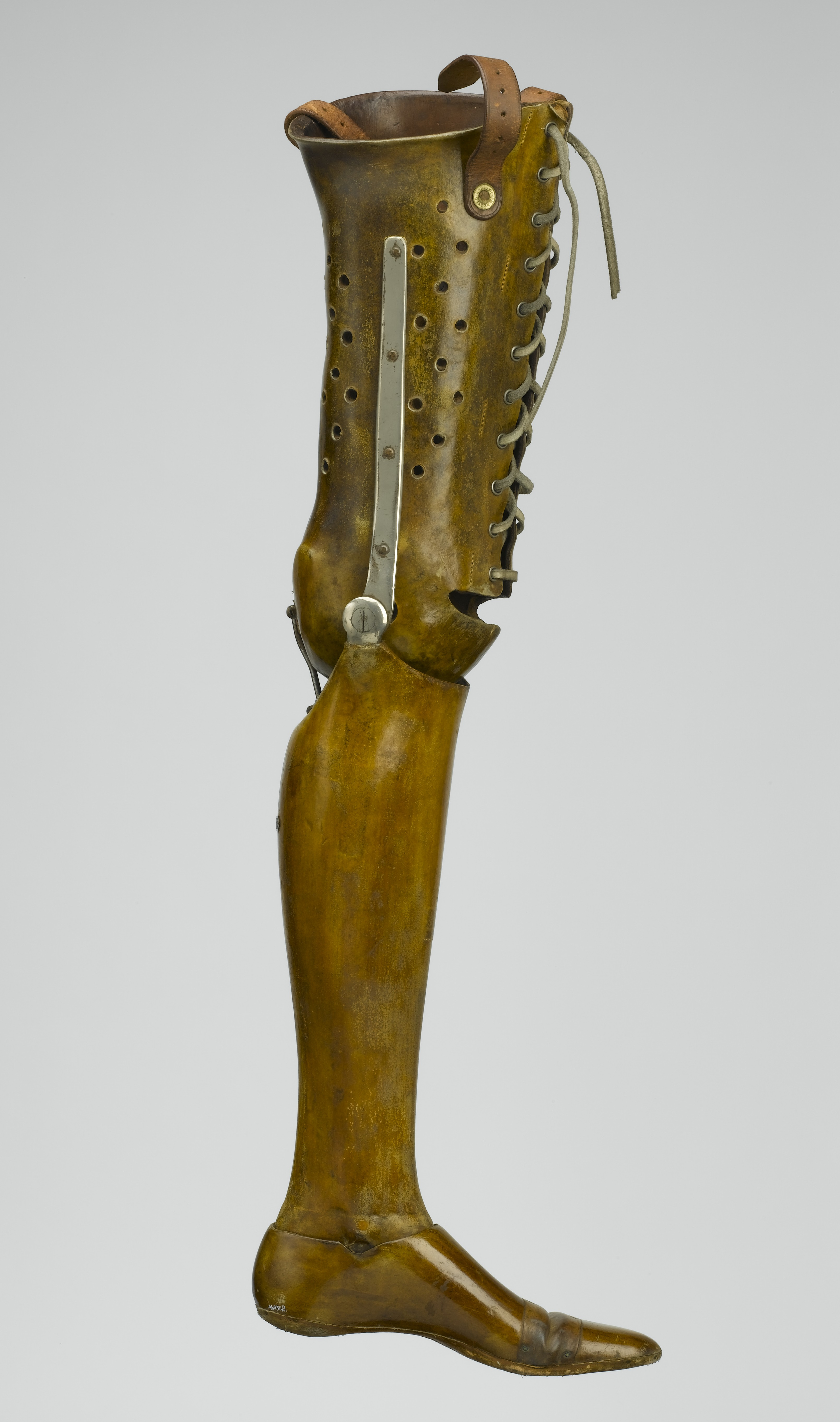how to make homemade prostetic leg