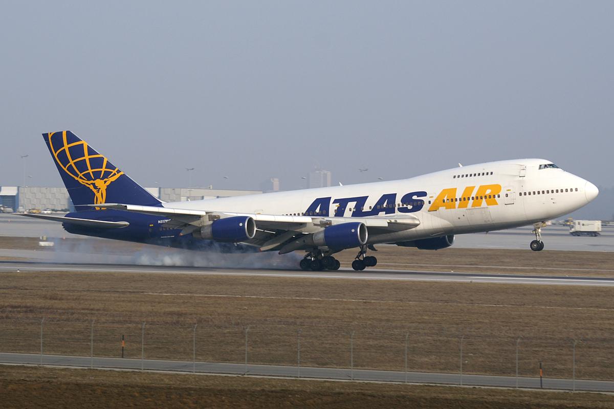 Atlas Air Boeing 747-200F