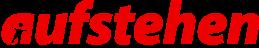 File:Aufstehen logo.png