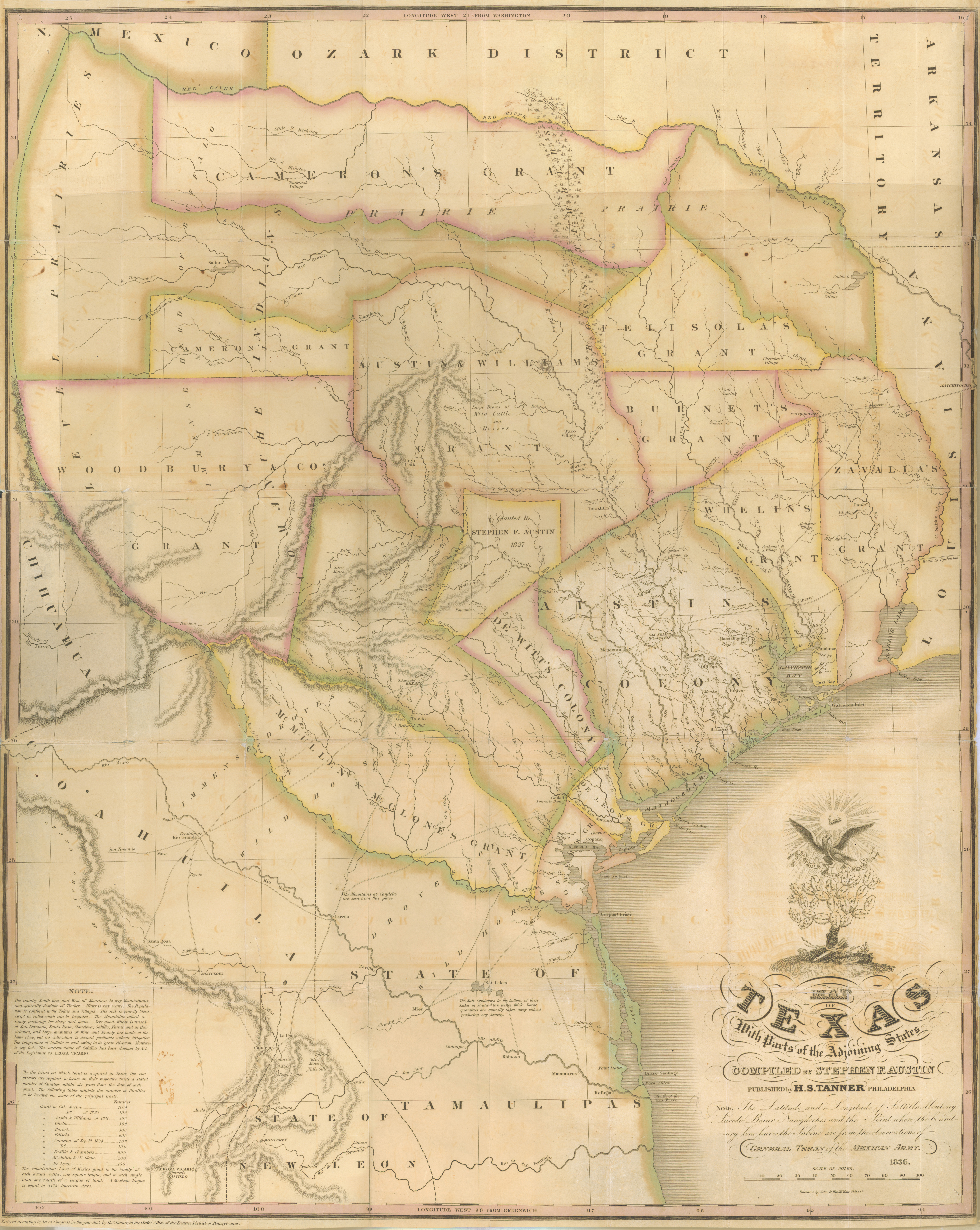 Map Of Texas Showing Austin.File Austin Tanner Map Of Texas With Parts Of The