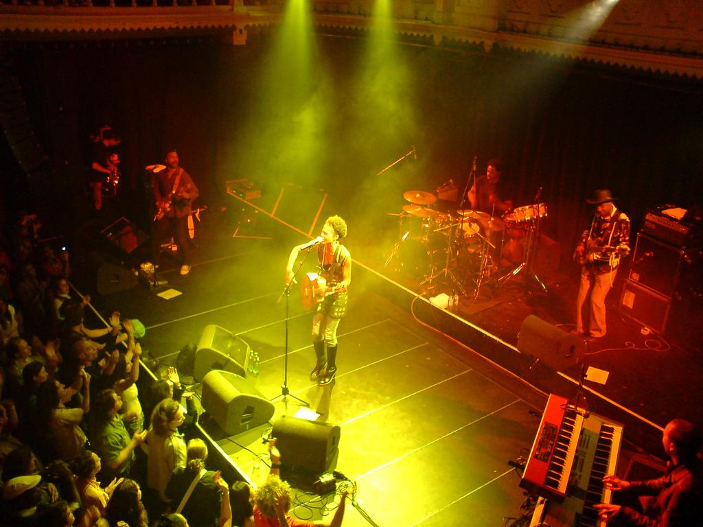 Concert de Ayo au Paradiso à Amsterdam. Photo de Jacq28.