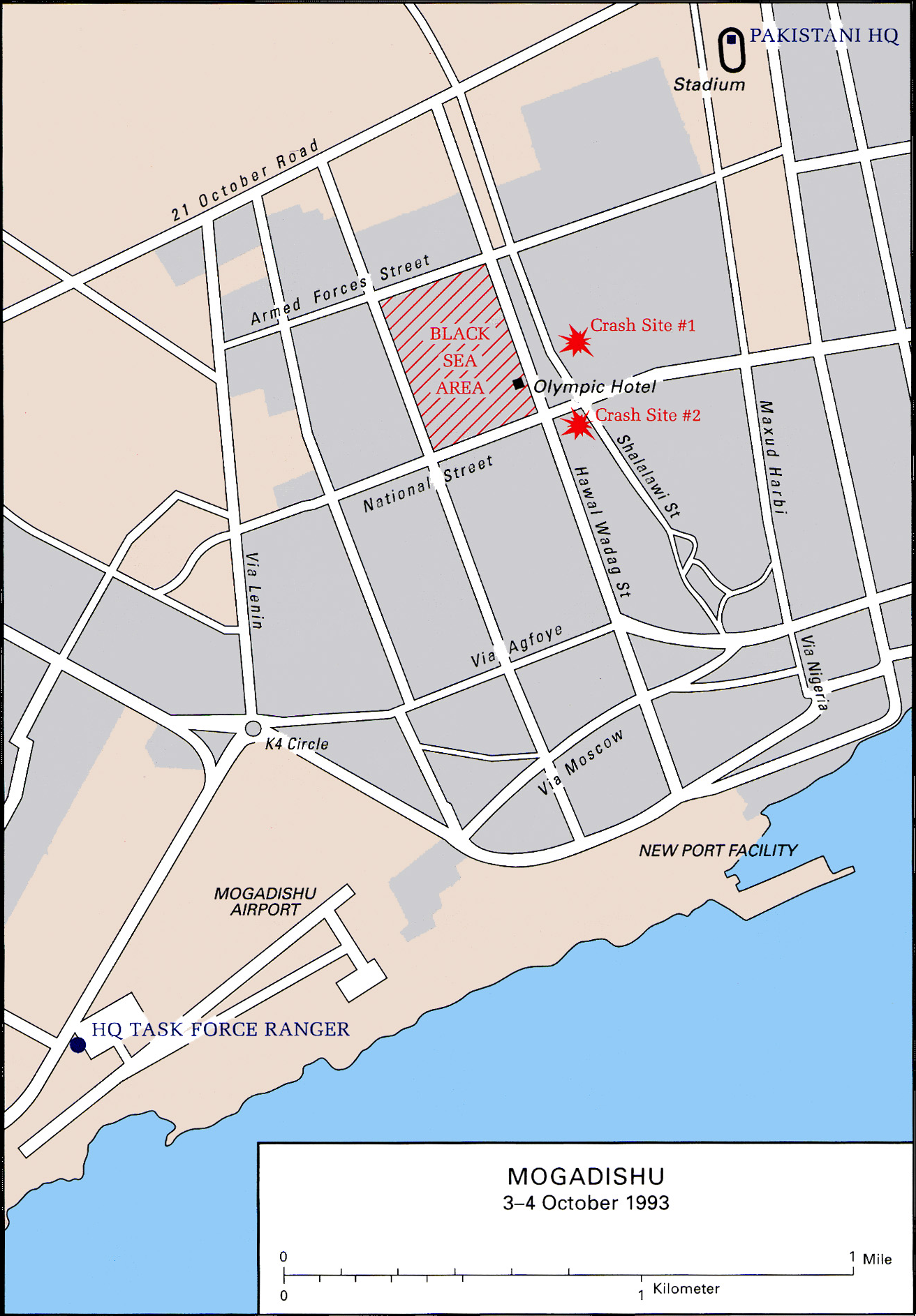 File:Battle of mogadishu map of city.png - Wikimedia Commons Mogadishu Map