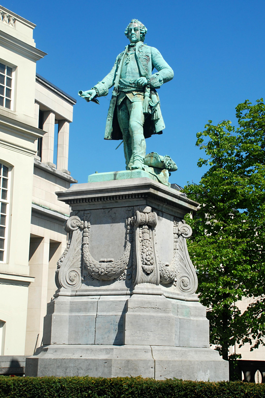 File belgique bruxelles statue de charles de lorraine for Statue de jardin belgique