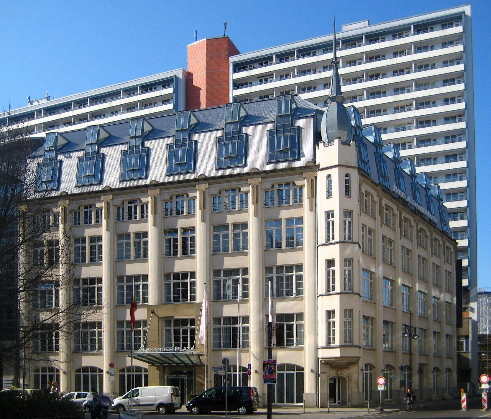 Hotel Alexander Berlin Pariser Strabe