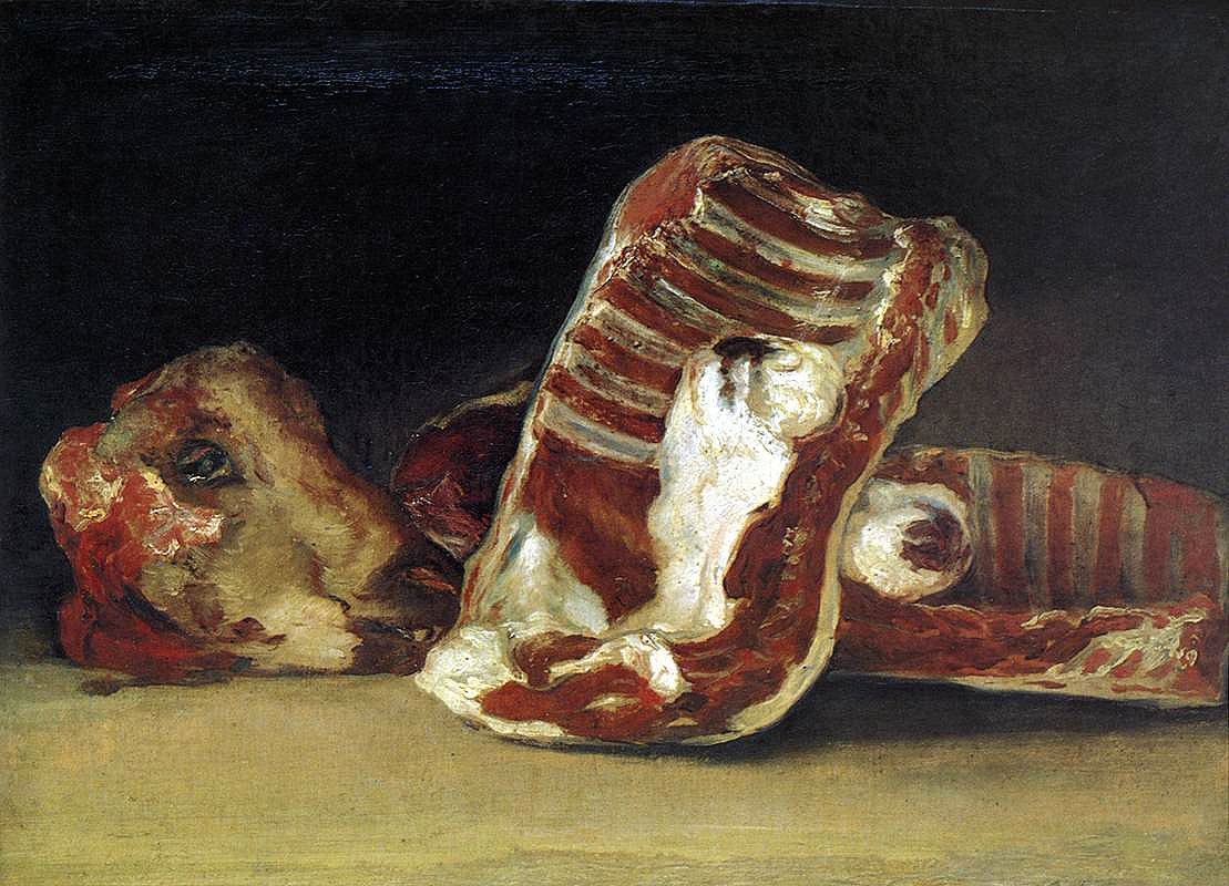 Still-Life: A Butcher's Counter