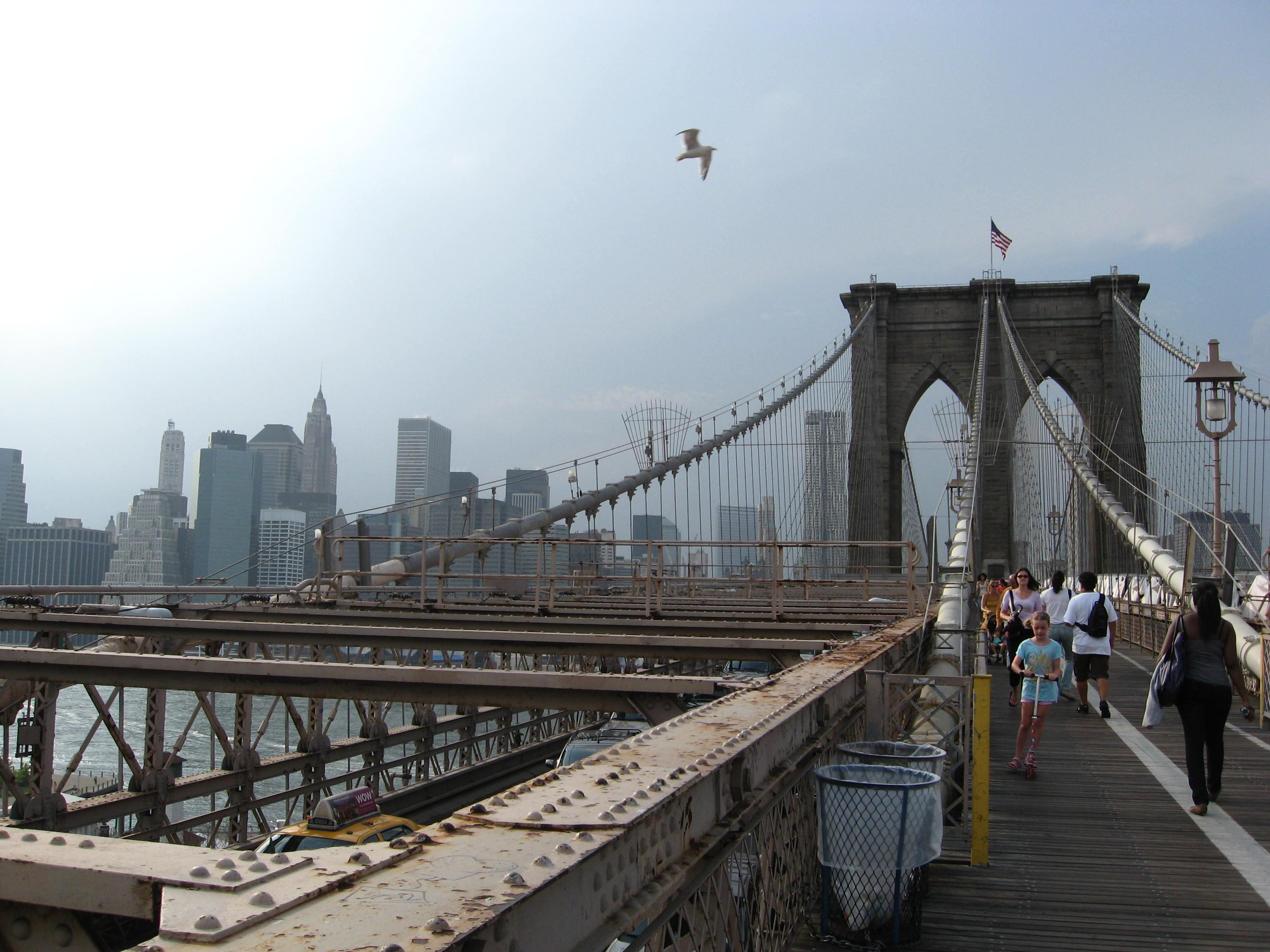 Distance Between Brooklyn Bridge And Coney Island
