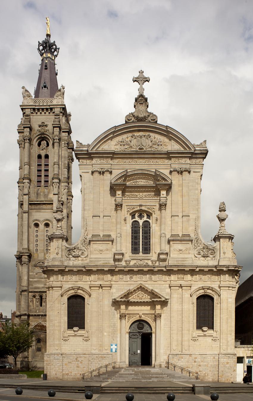 Architecte Cambrai cathédrale notre-dame-de-grâce de cambrai — wikipédia